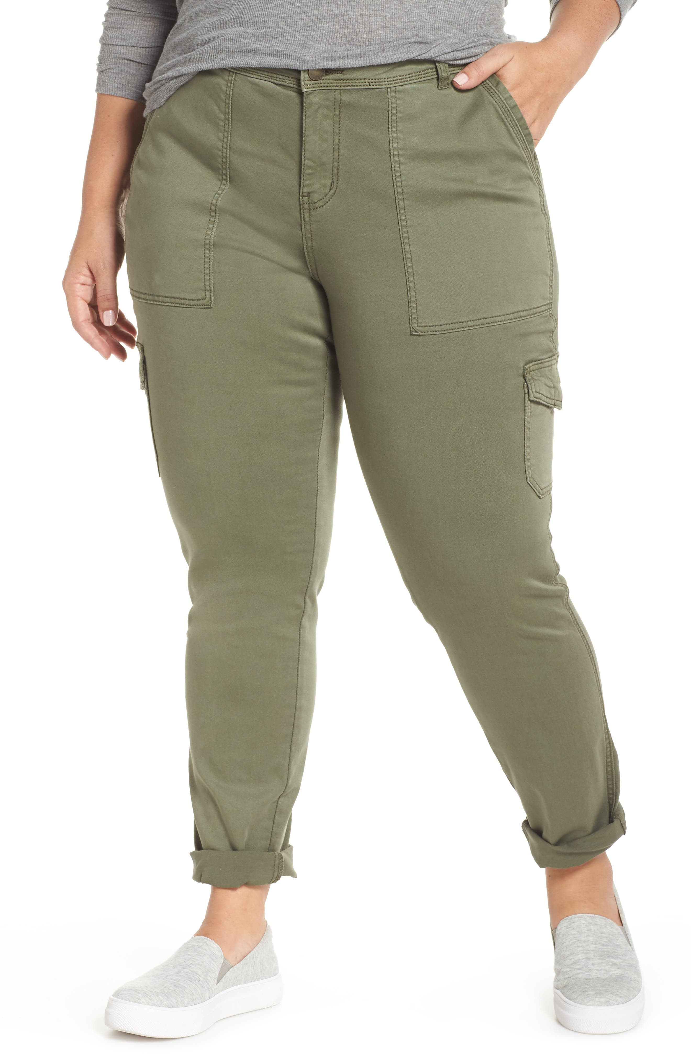 Stretch Twill Utility Pants,                         Main,                         color, 301
