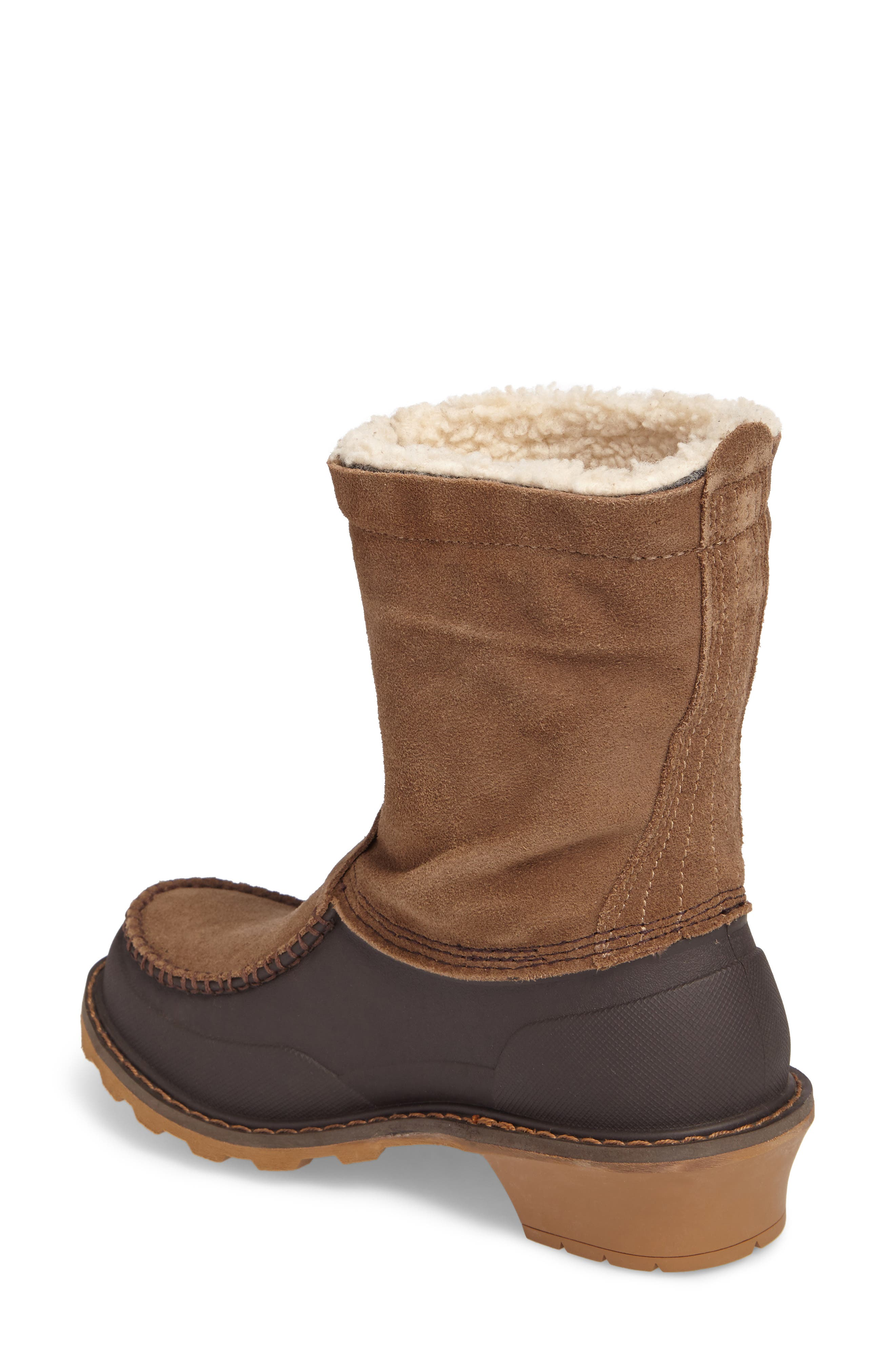 Fully Wooly Waterproof Winter Boot,                             Alternate thumbnail 4, color,