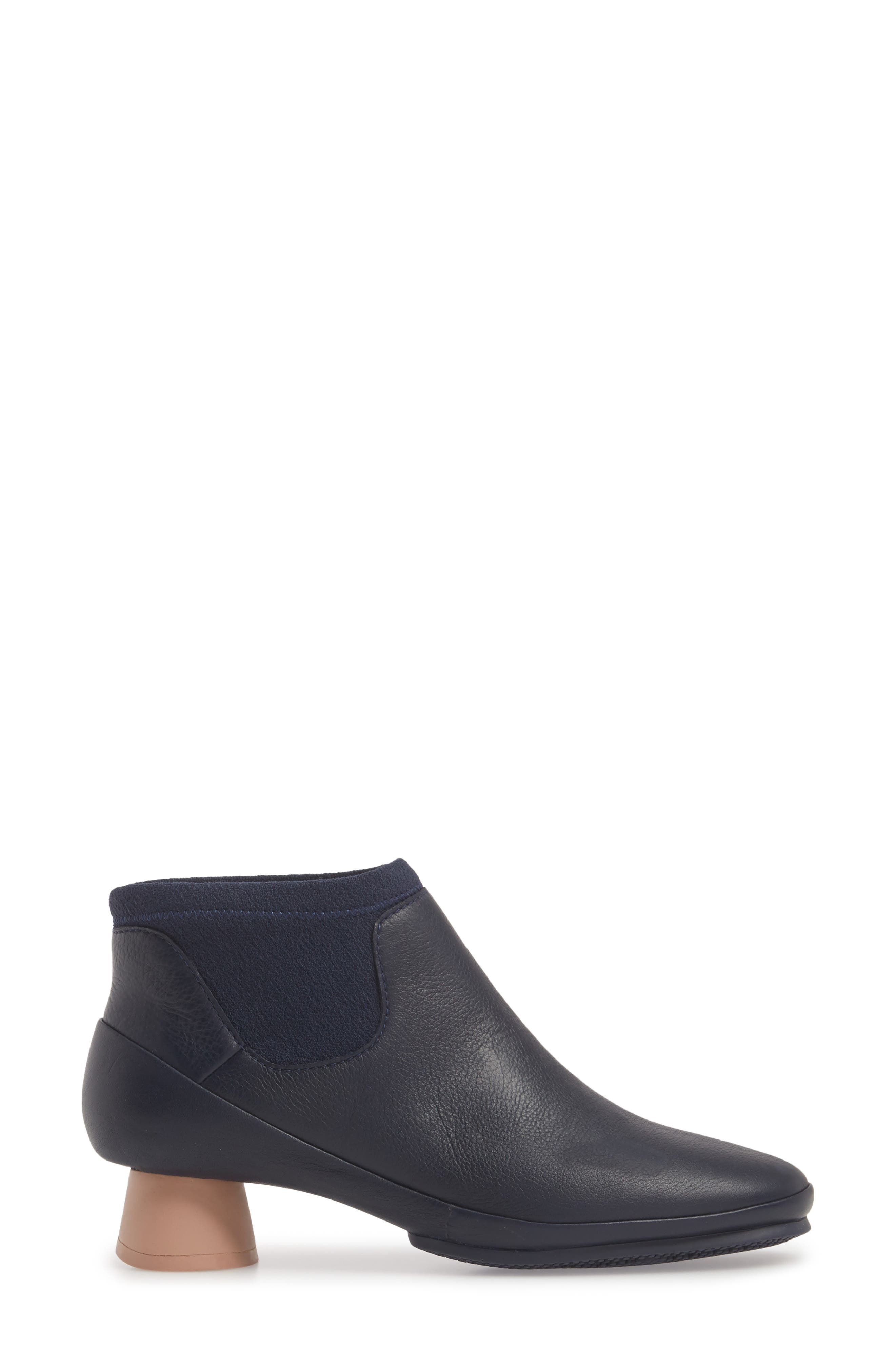 Alright Chelsea Bootie,                             Alternate thumbnail 3, color,                             NAVY