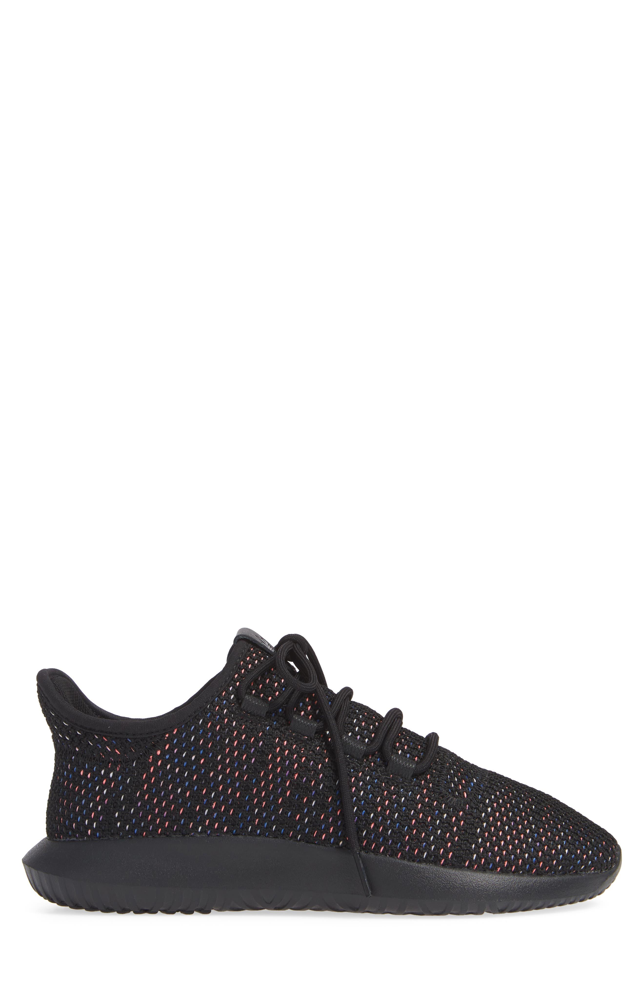 Tubular Shadow CK Sneaker,                             Alternate thumbnail 3, color,                             BLACK/ SOLAR RED/ MYSTERY INK