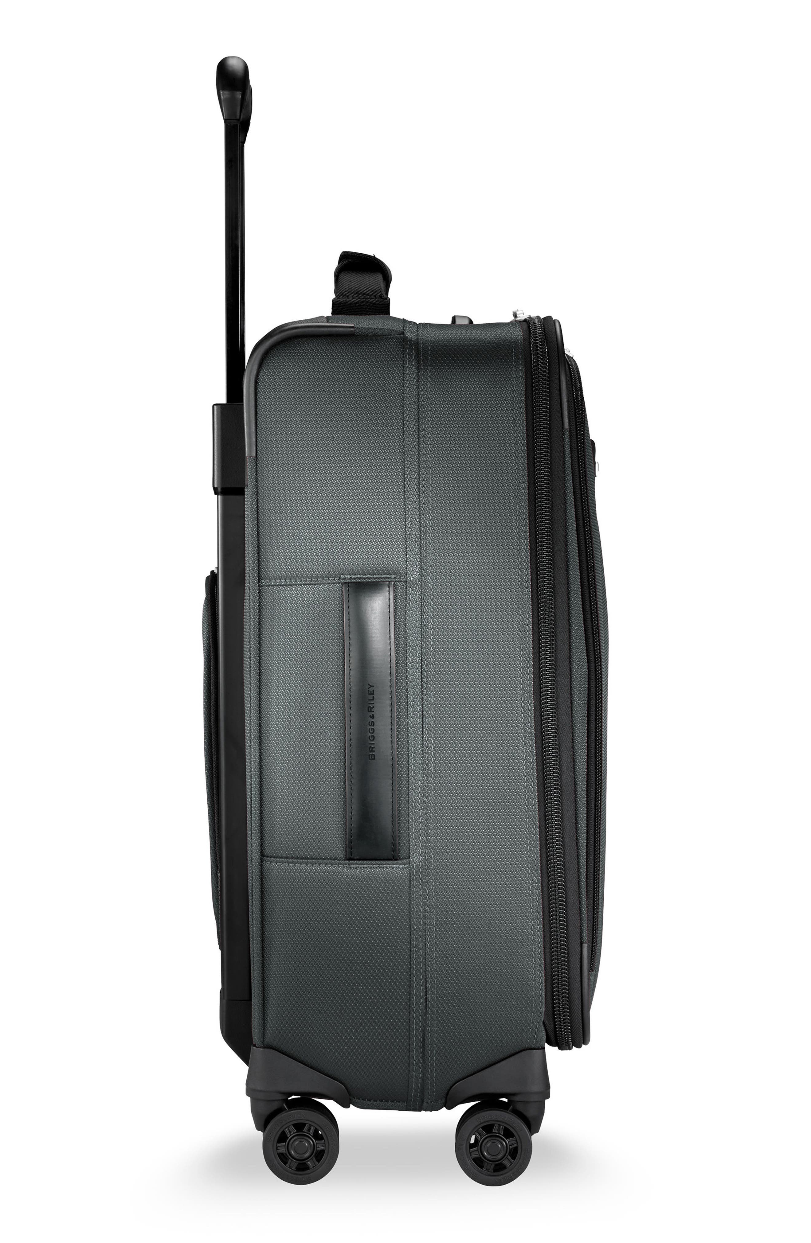 Transcend VX Tall Expandable 22-Inch Spinner Suitcase,                             Alternate thumbnail 3, color,                             SLATE GREY
