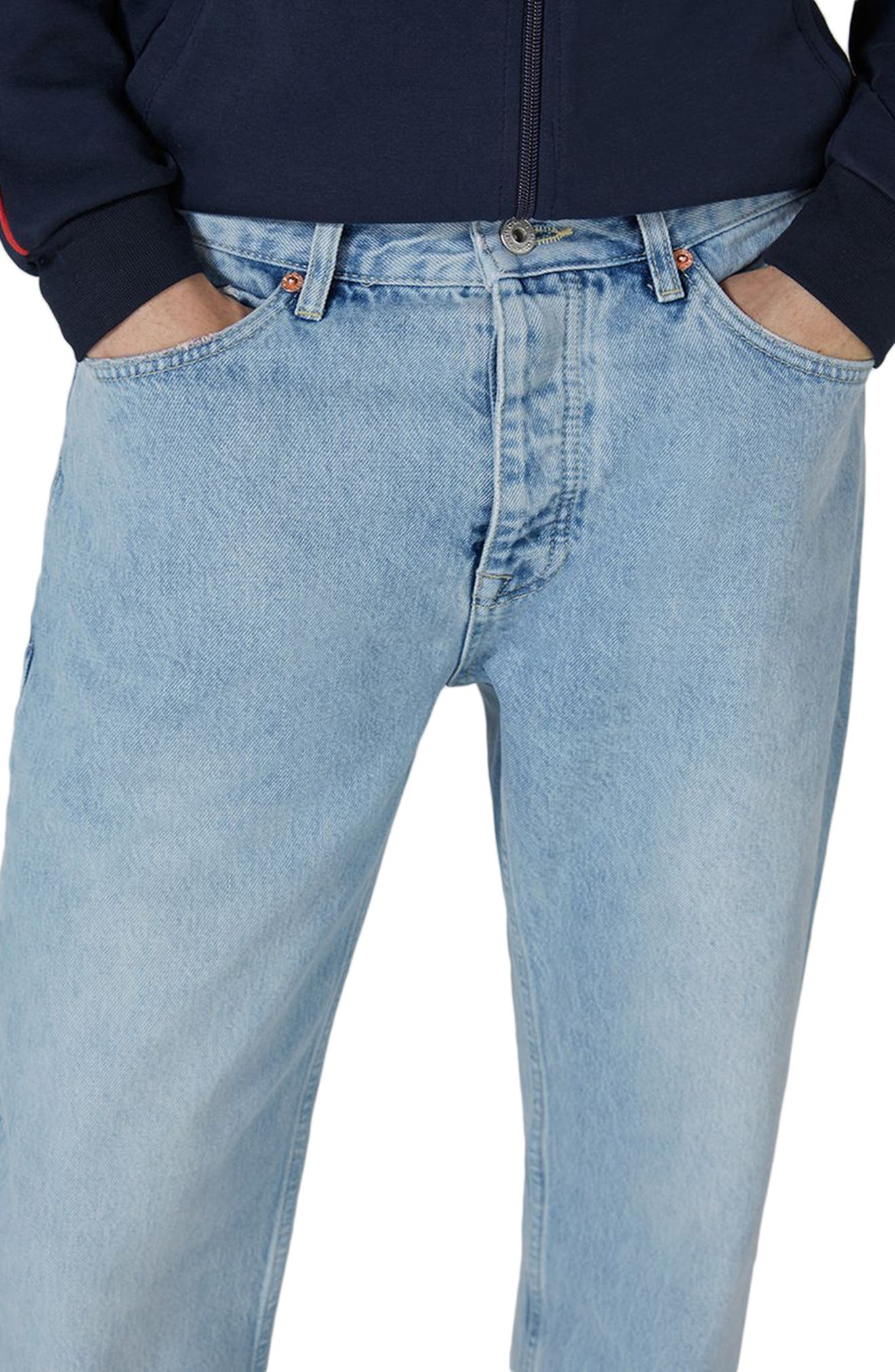 Original Fit Jeans,                             Alternate thumbnail 3, color,                             BLUE