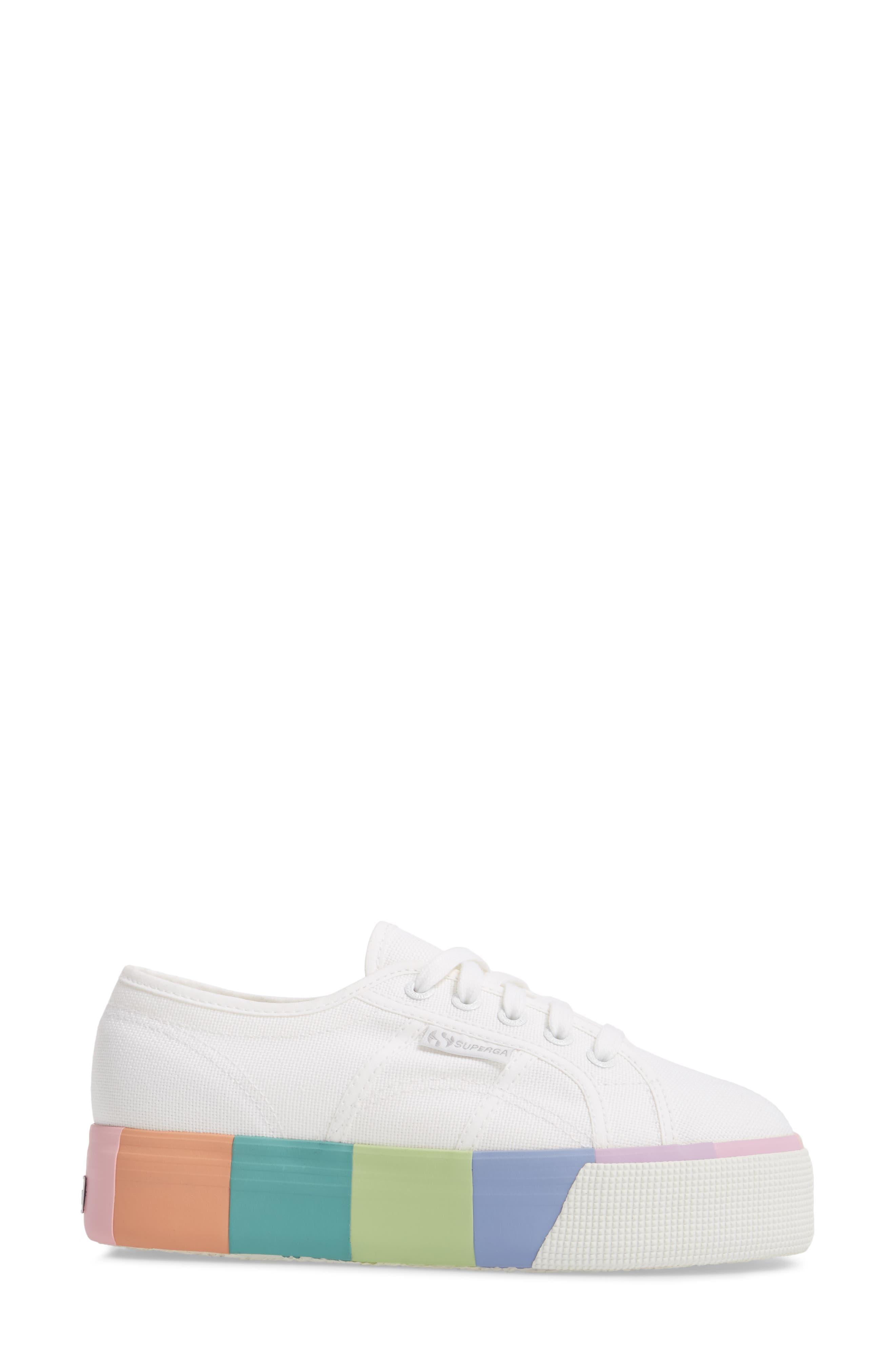 2790 Platform Sneaker,                             Alternate thumbnail 3, color,                             100