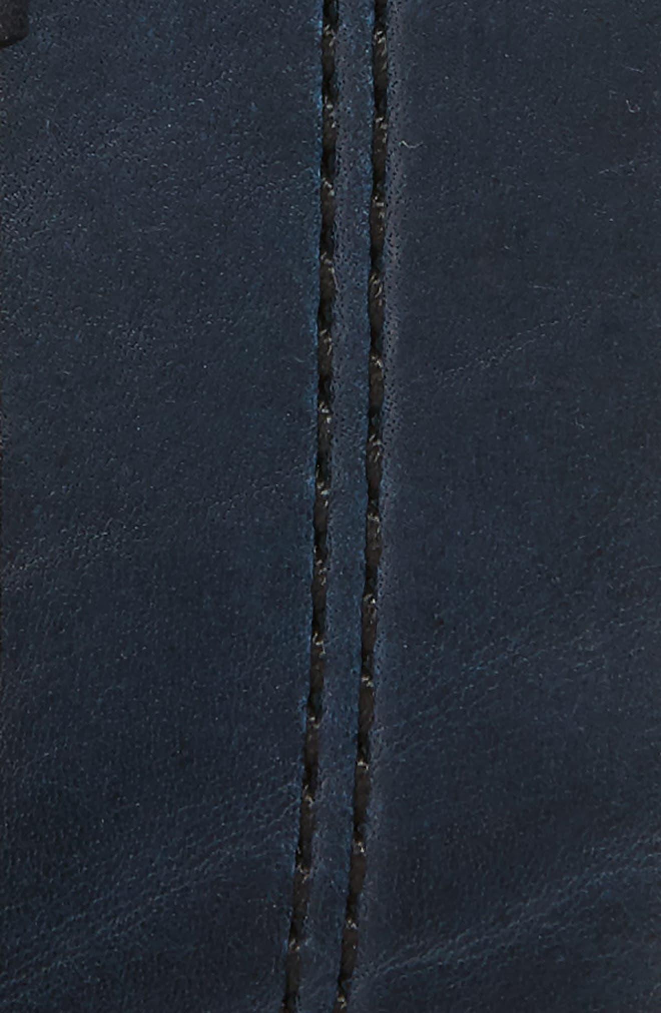 Mason Center Stitch Horween<sup>®</sup> Leather Belt,                             Alternate thumbnail 6, color,