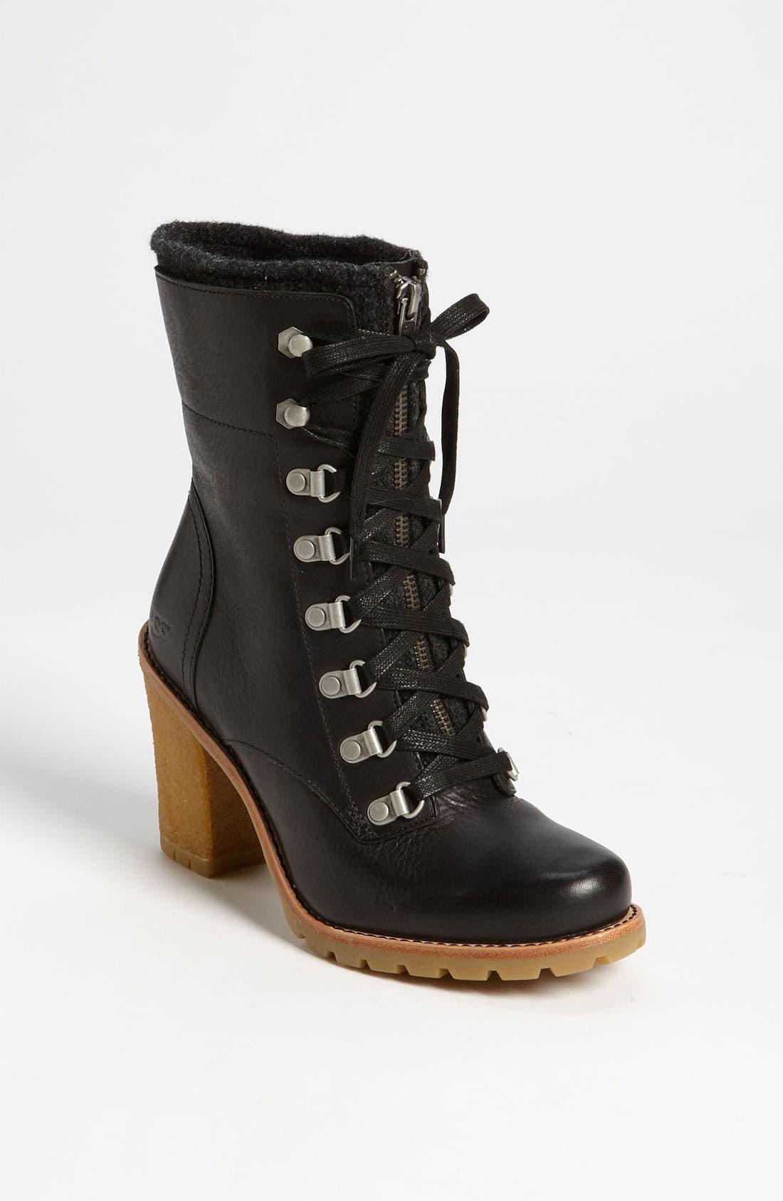 UGG<SUP>®</SUP> Australia 'Fabrice' Boot, Main, color, 001