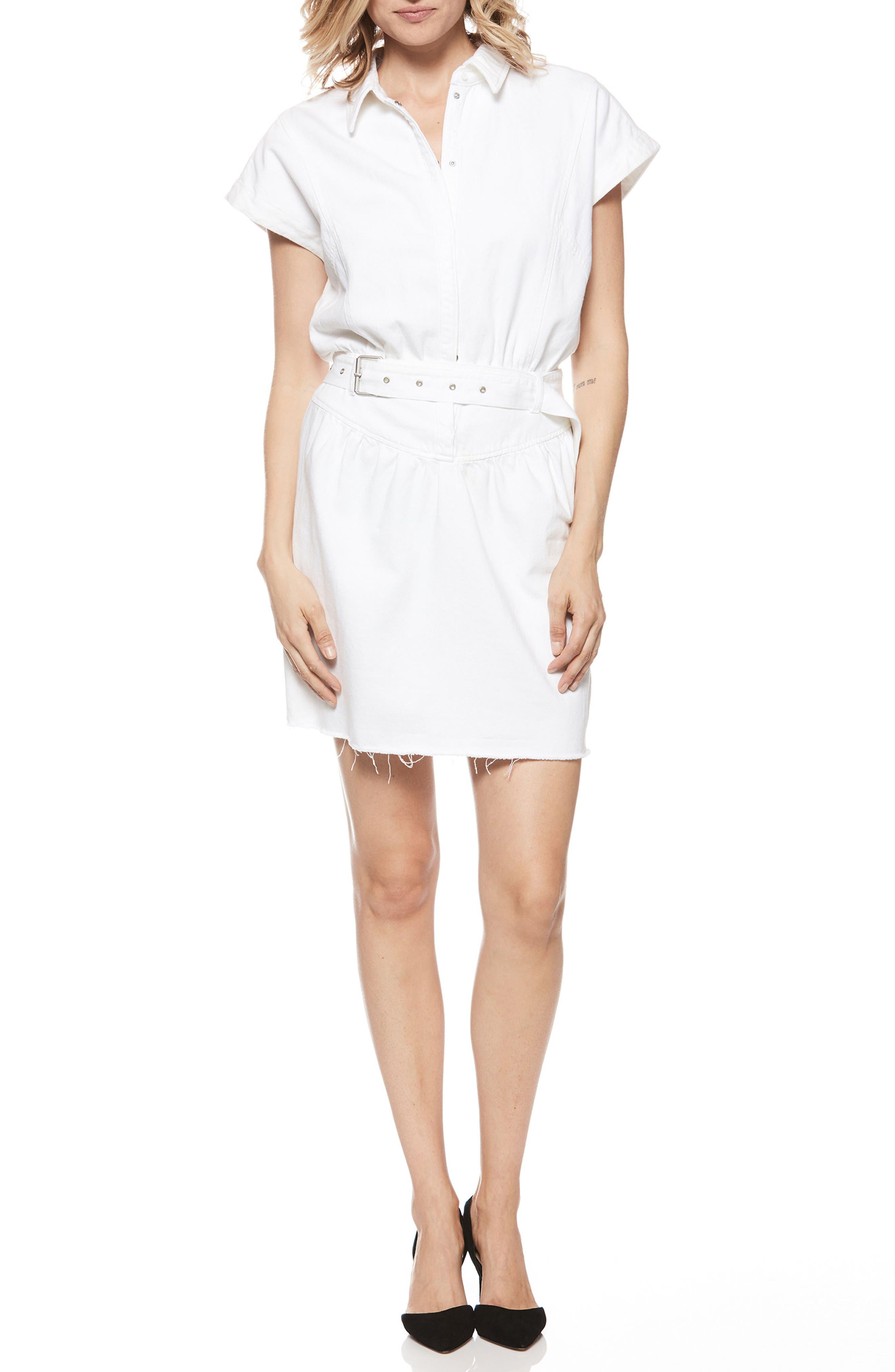 Celina Dress,                             Main thumbnail 1, color,                             CRISP WHITE