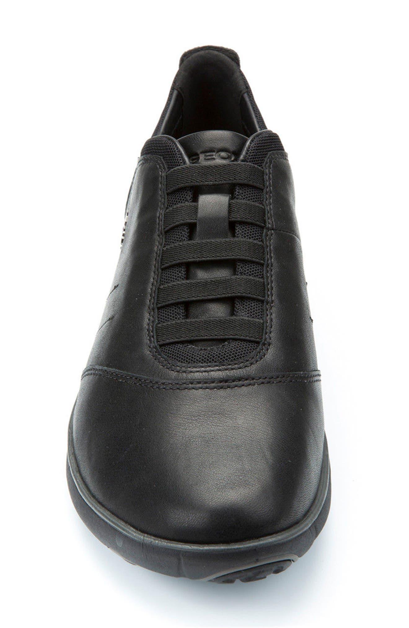 'Nebula 8' Sneaker,                             Alternate thumbnail 4, color,                             BLACK