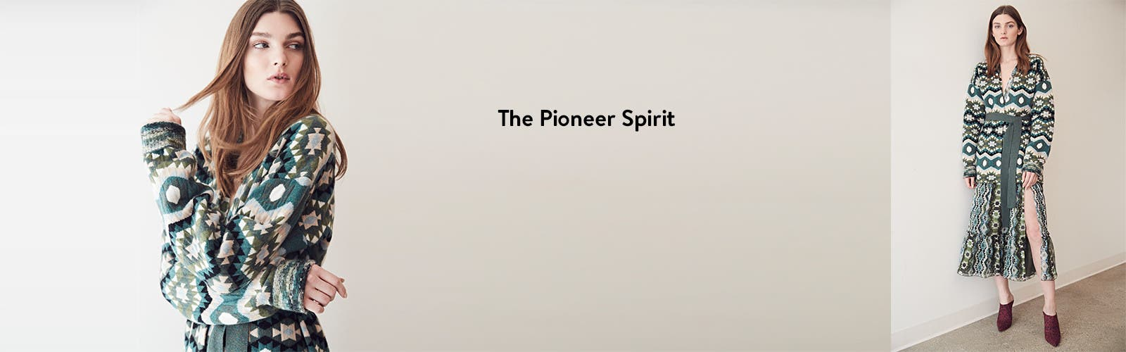 The pioneer spirit: designer trend.