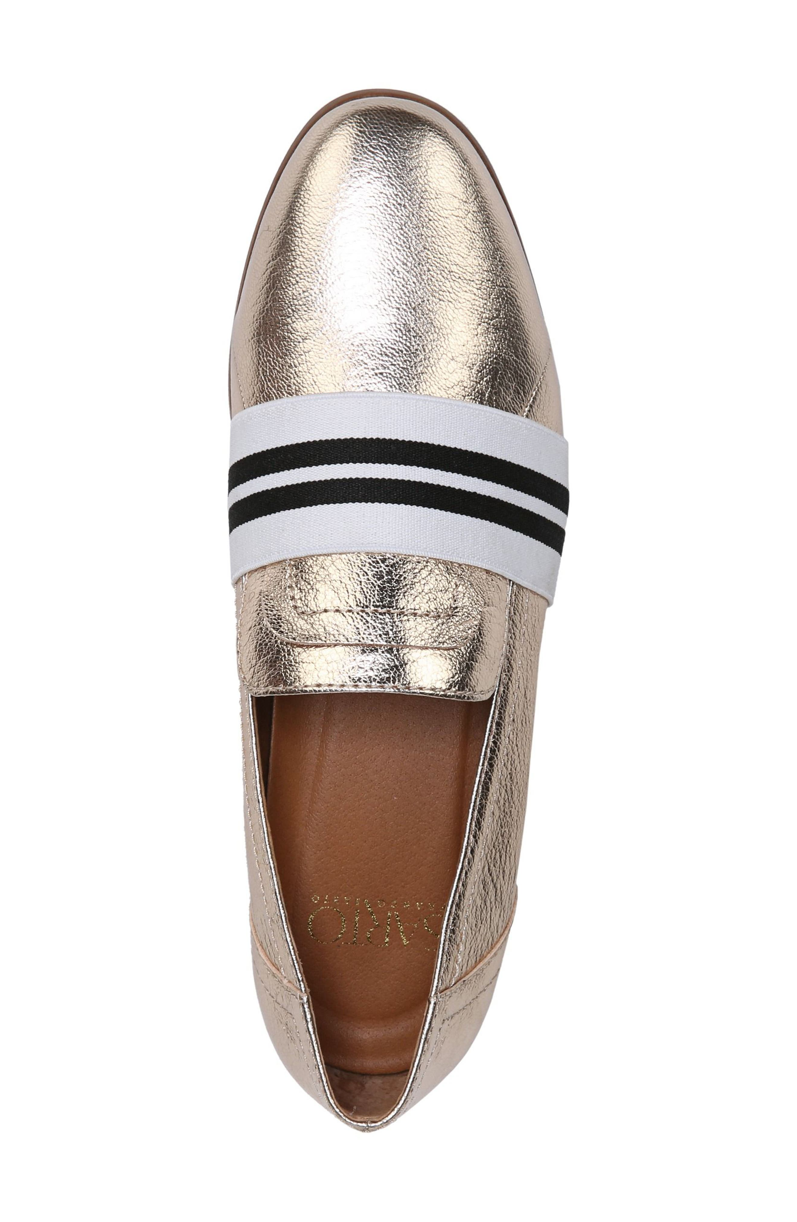 Odyssey Loafer,                             Alternate thumbnail 5, color,                             PLATINO LEATHER