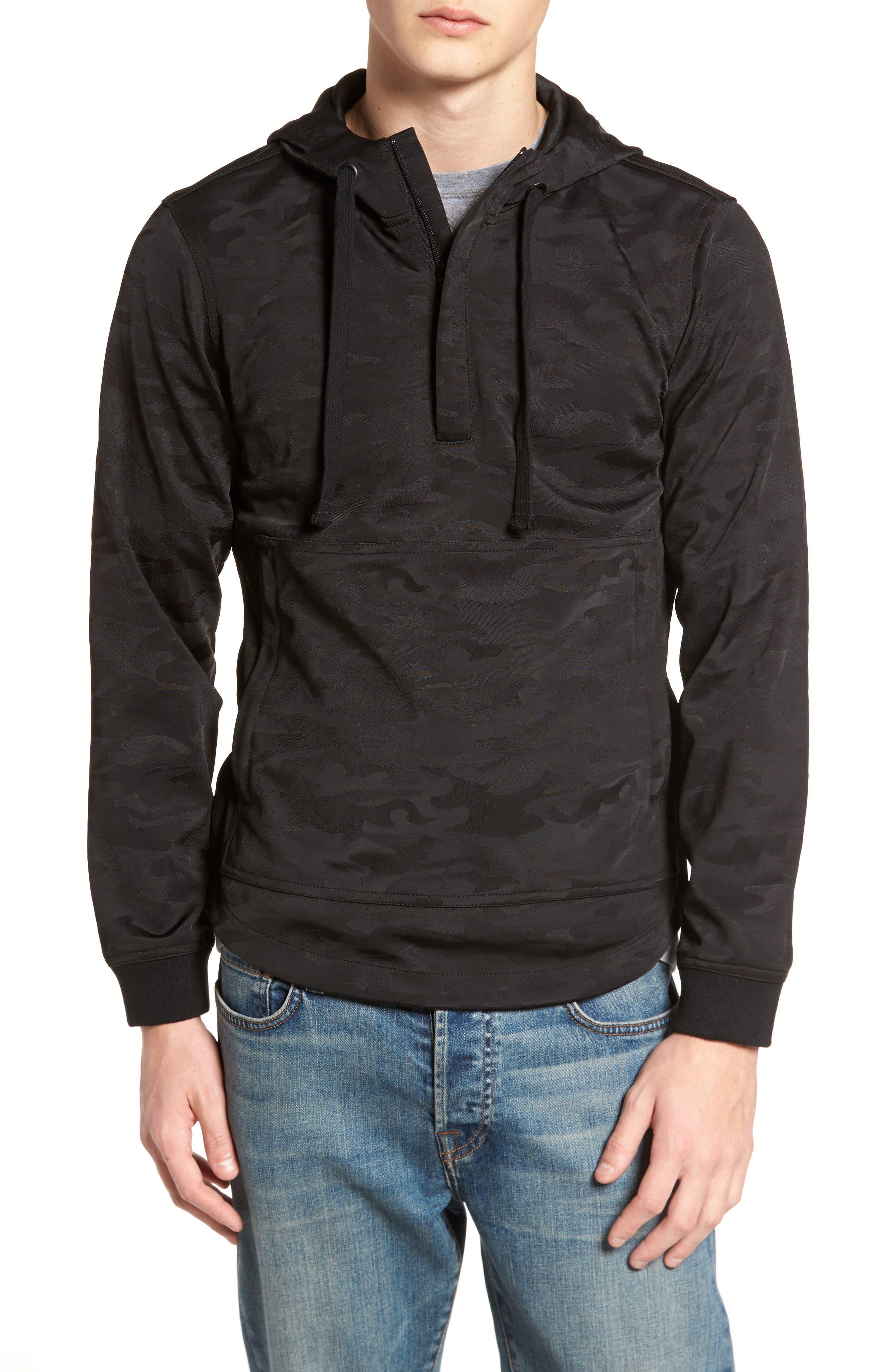 Half-Zip Hoodie,                         Main,                         color,