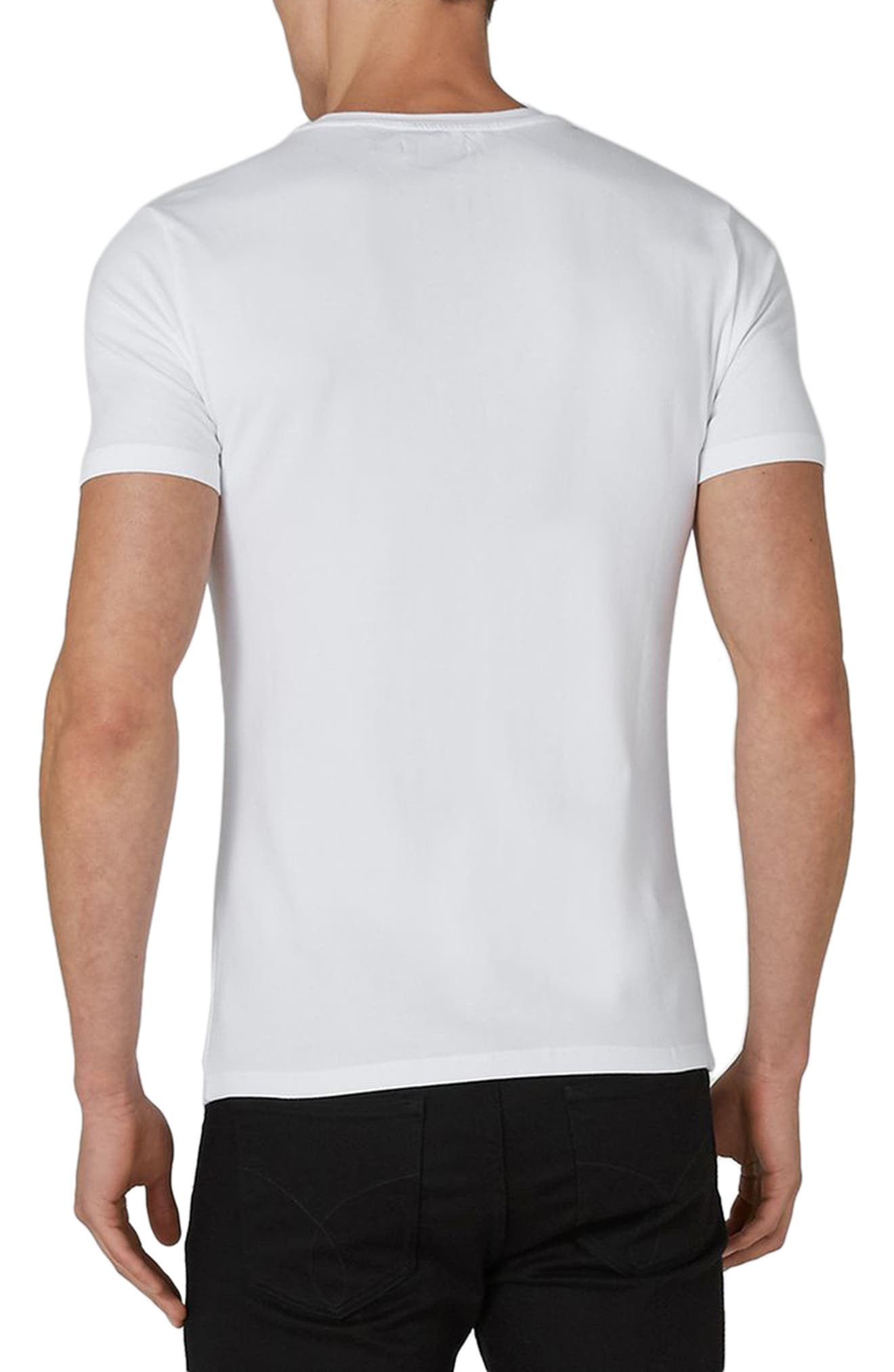 Ultra Muscle Fit T-Shirt,                             Alternate thumbnail 2, color,                             100