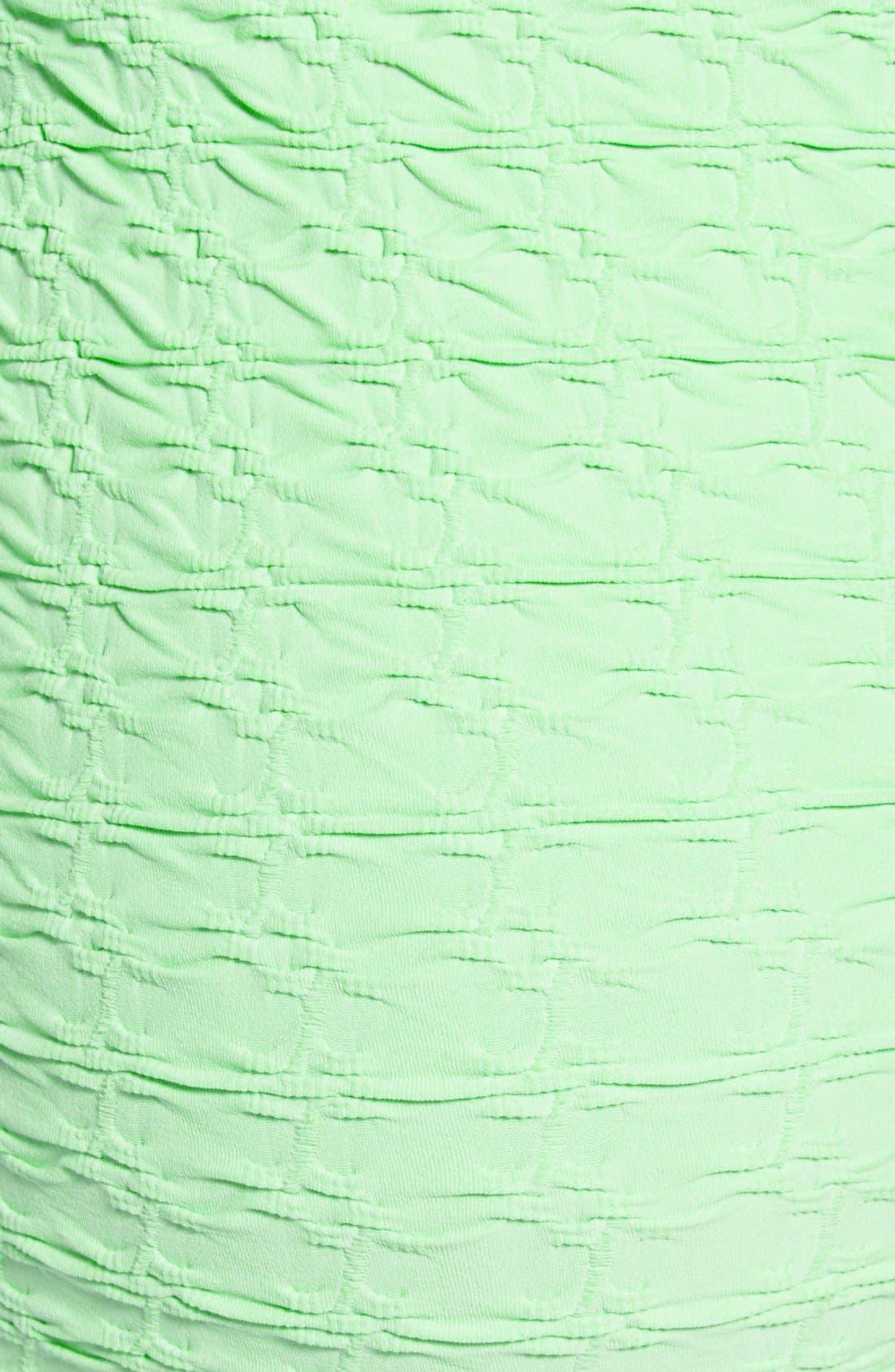 'Crinkle' Maternity Midi Dress,                             Alternate thumbnail 8, color,
