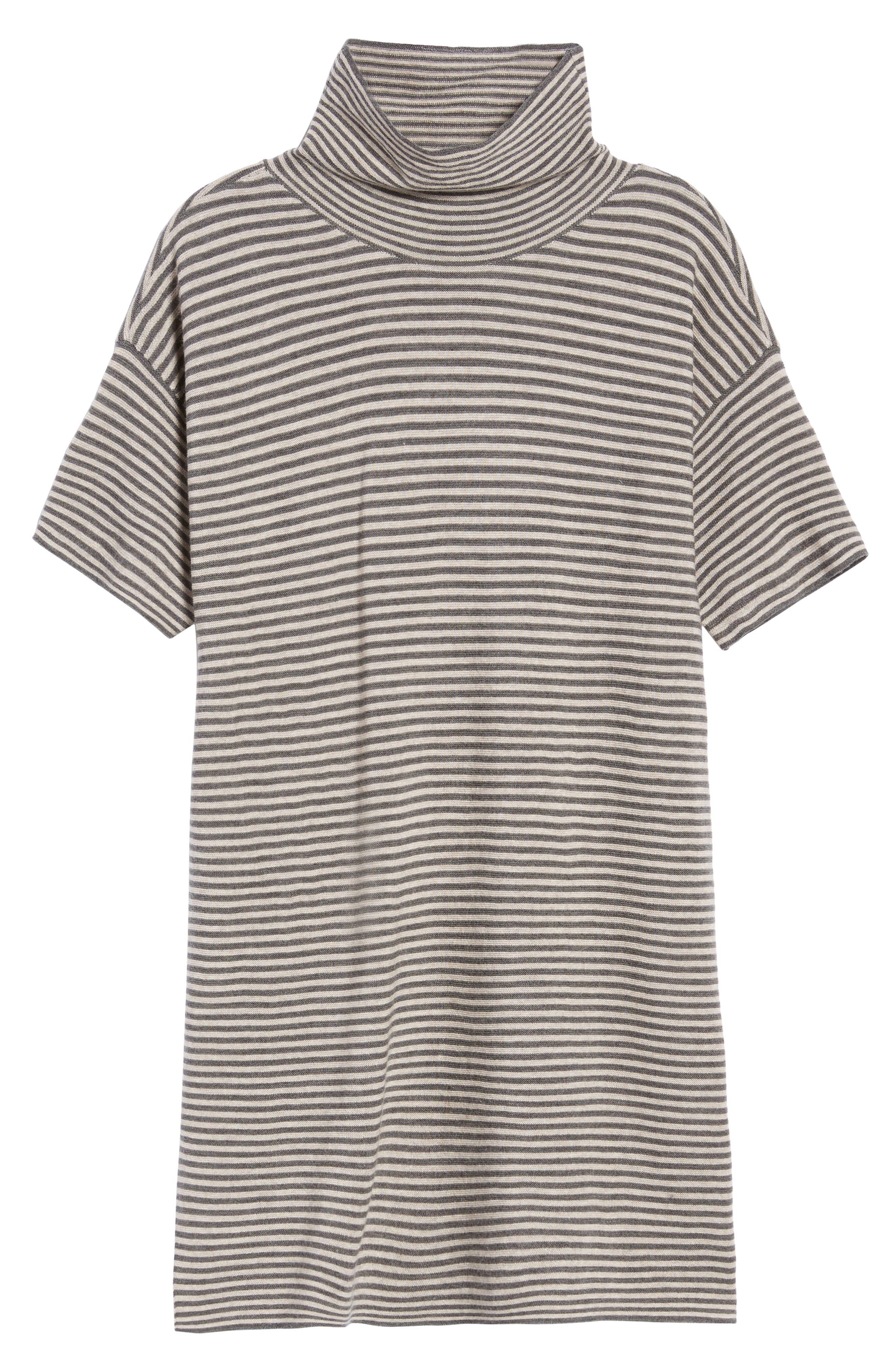 Stripe Merino Wool Tunic,                             Alternate thumbnail 12, color,