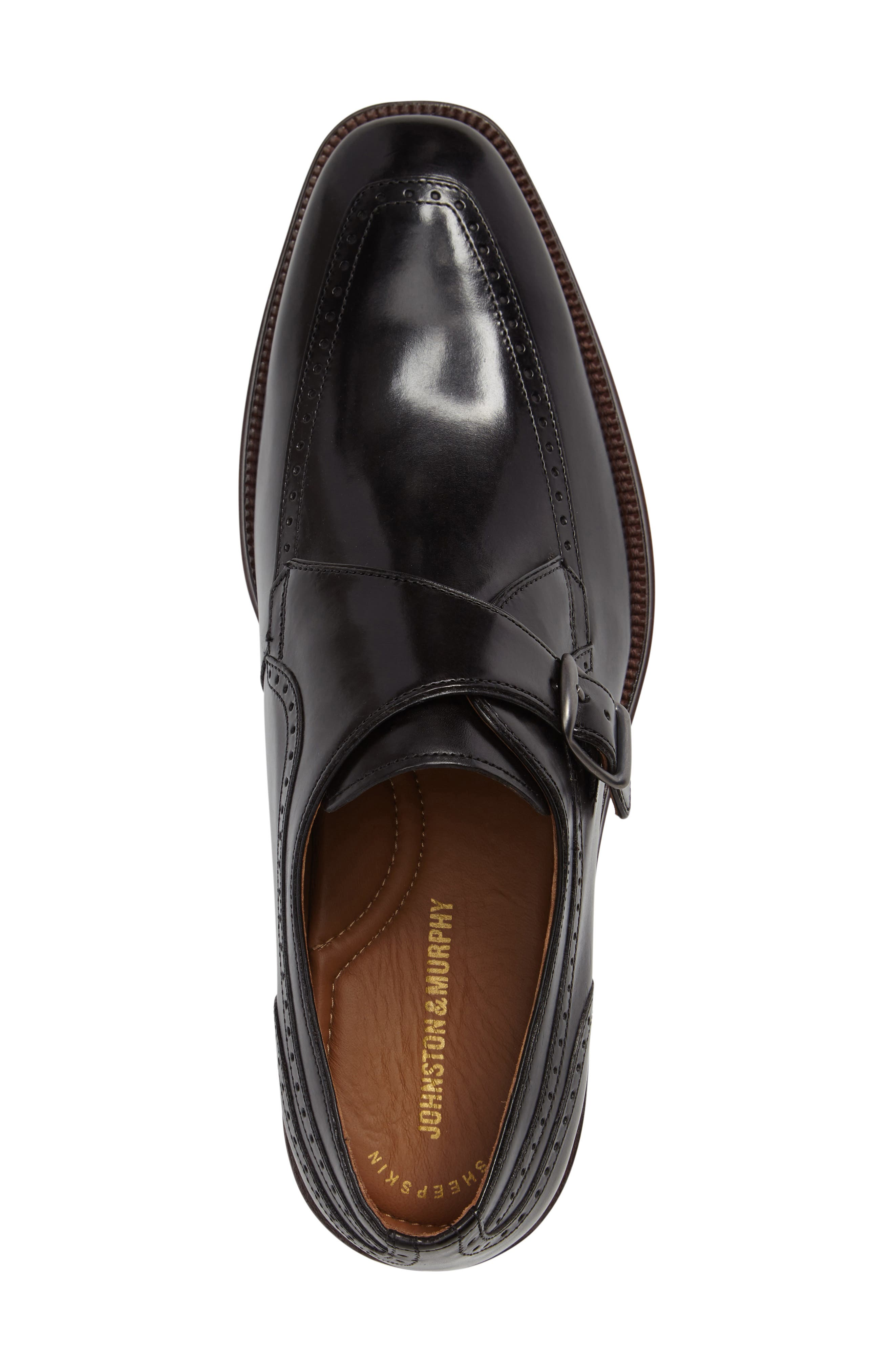 Boydstun Monk Strap Shoe,                             Alternate thumbnail 3, color,                             001