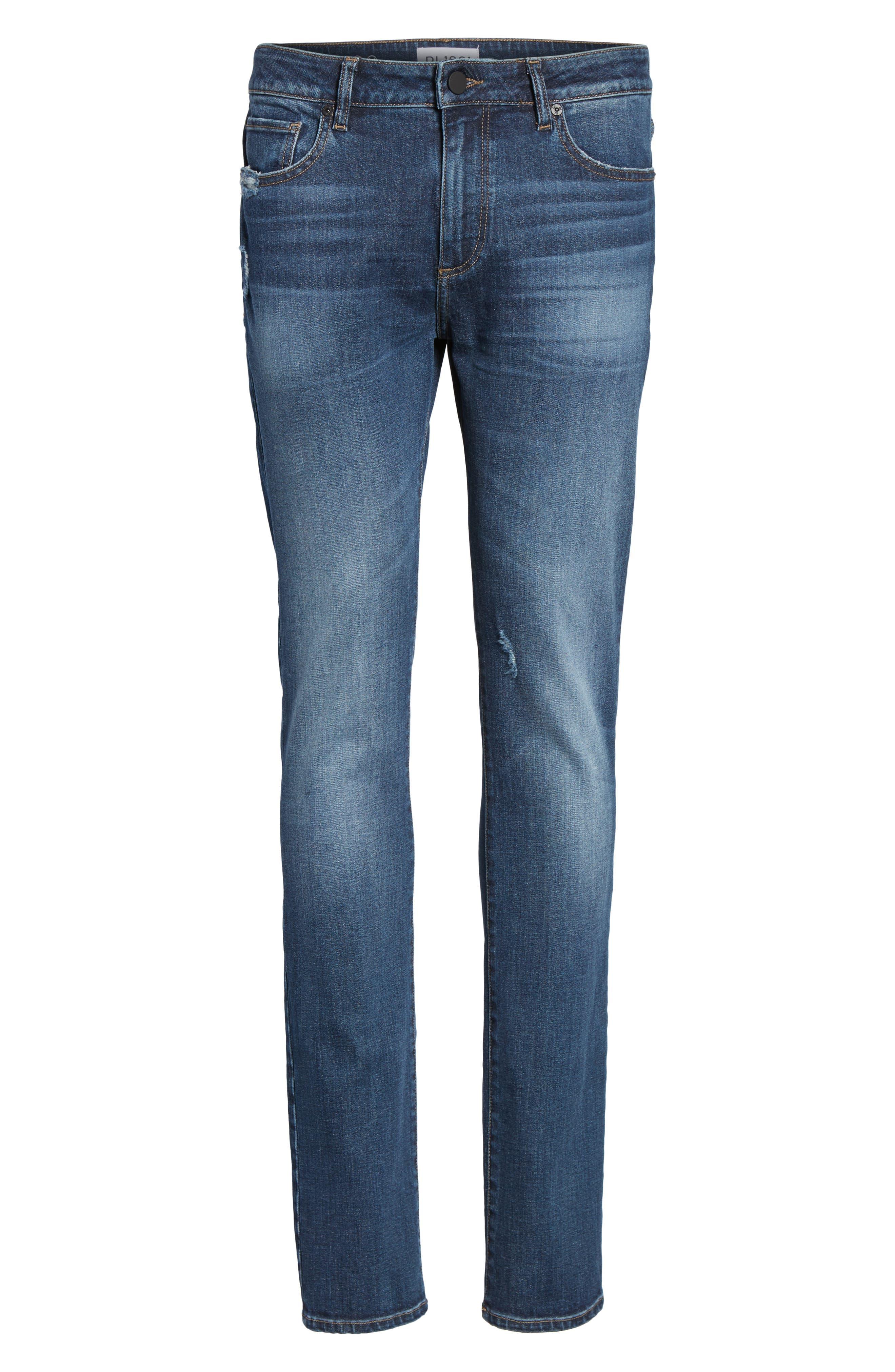 Nick Slim Fit Jeans,                             Alternate thumbnail 6, color,                             406
