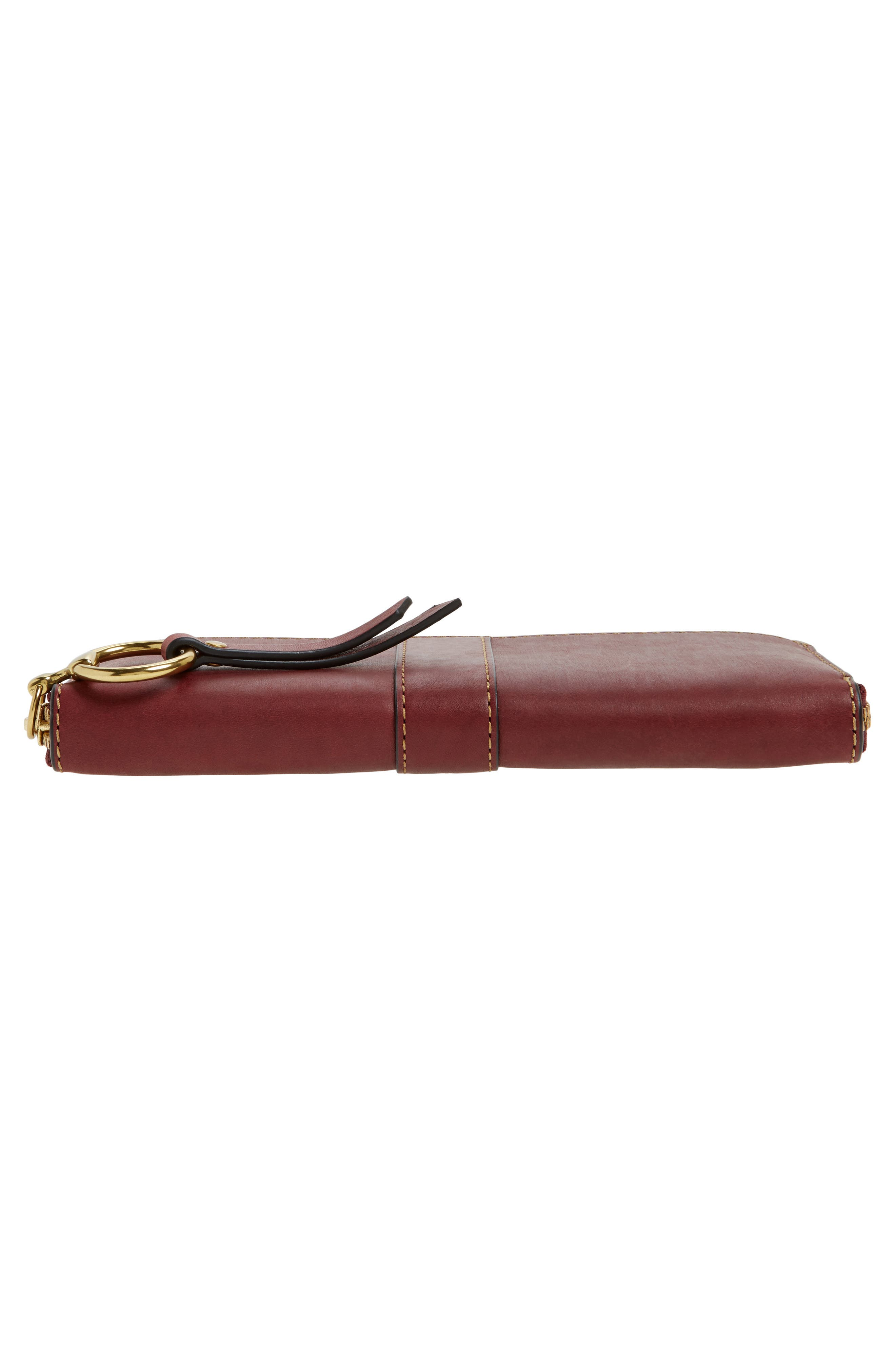 Ilana Harness Leather Zip Wallet,                             Alternate thumbnail 12, color,