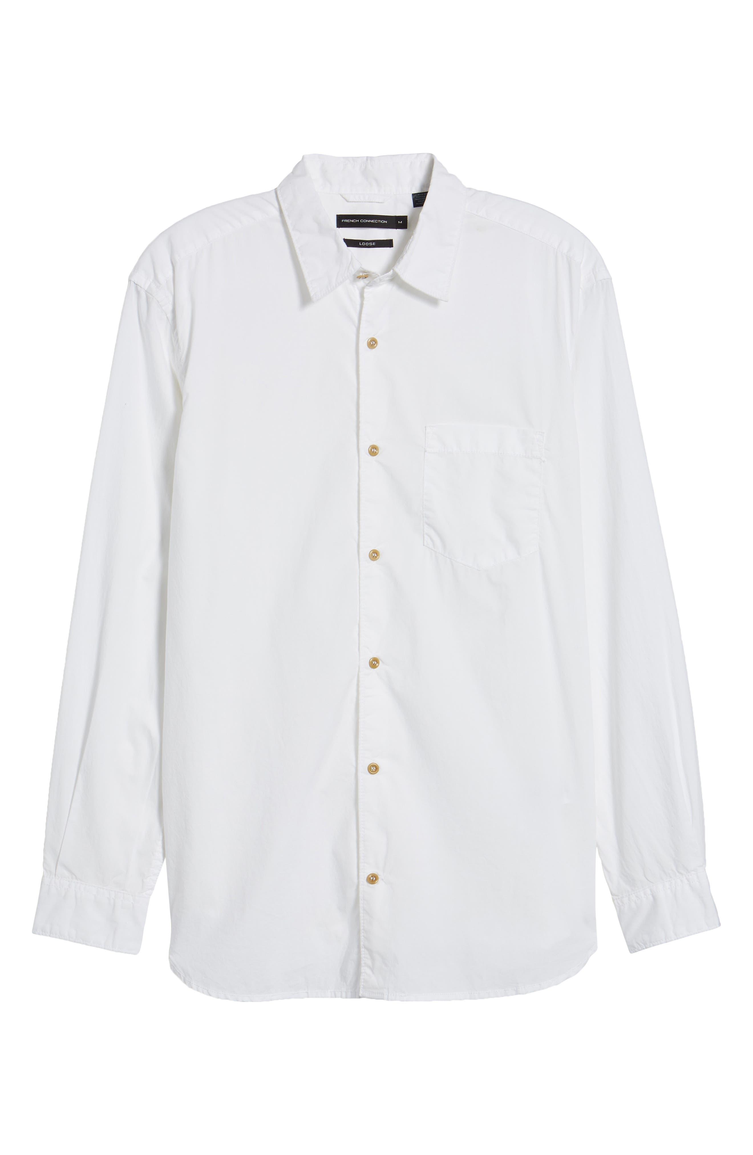 Regular Fit Poplin Sport Shirt,                             Alternate thumbnail 17, color,