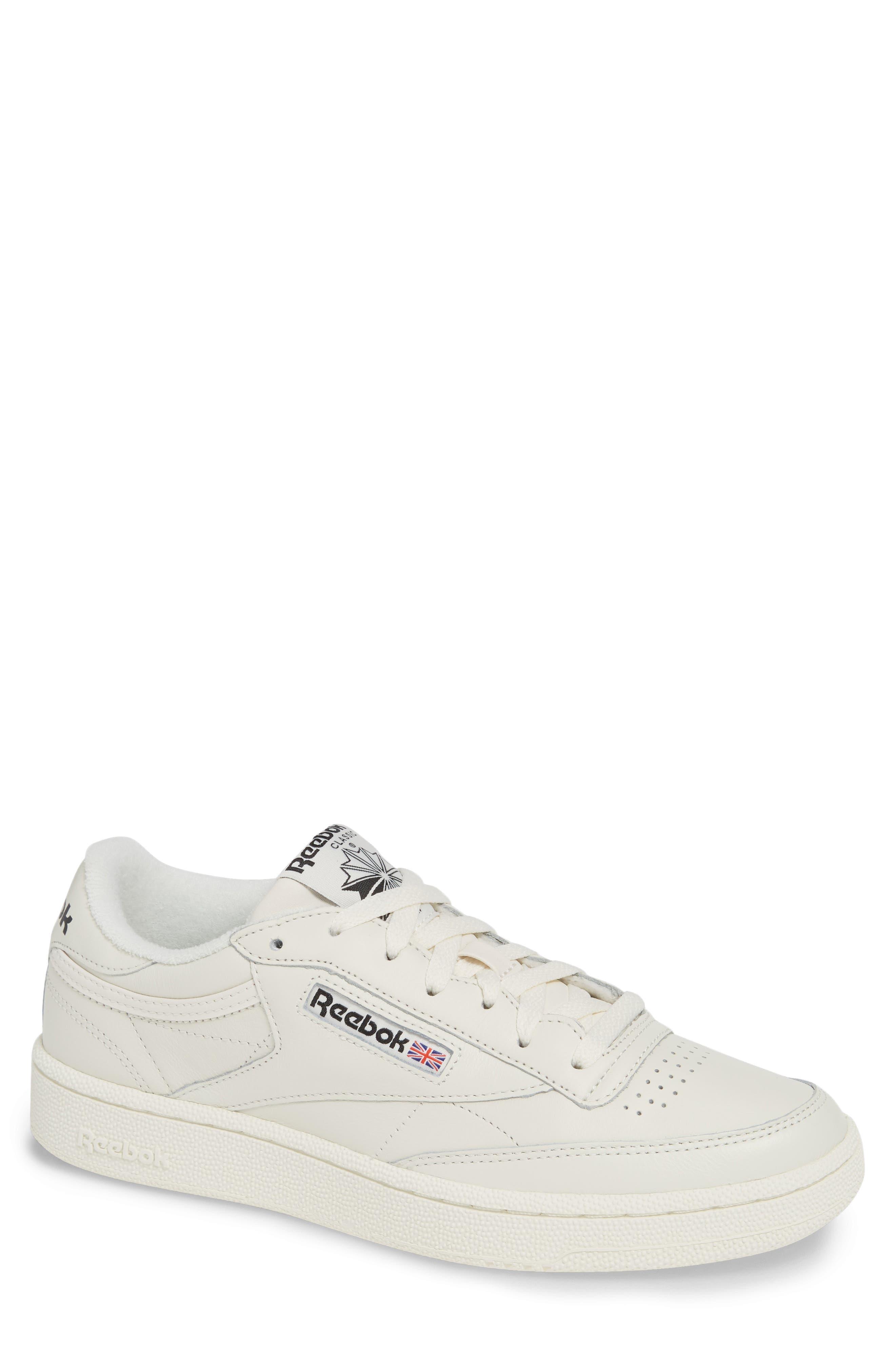 Vintage Club C 85 MU Sneaker,                         Main,                         color, CHALK/ BLACK