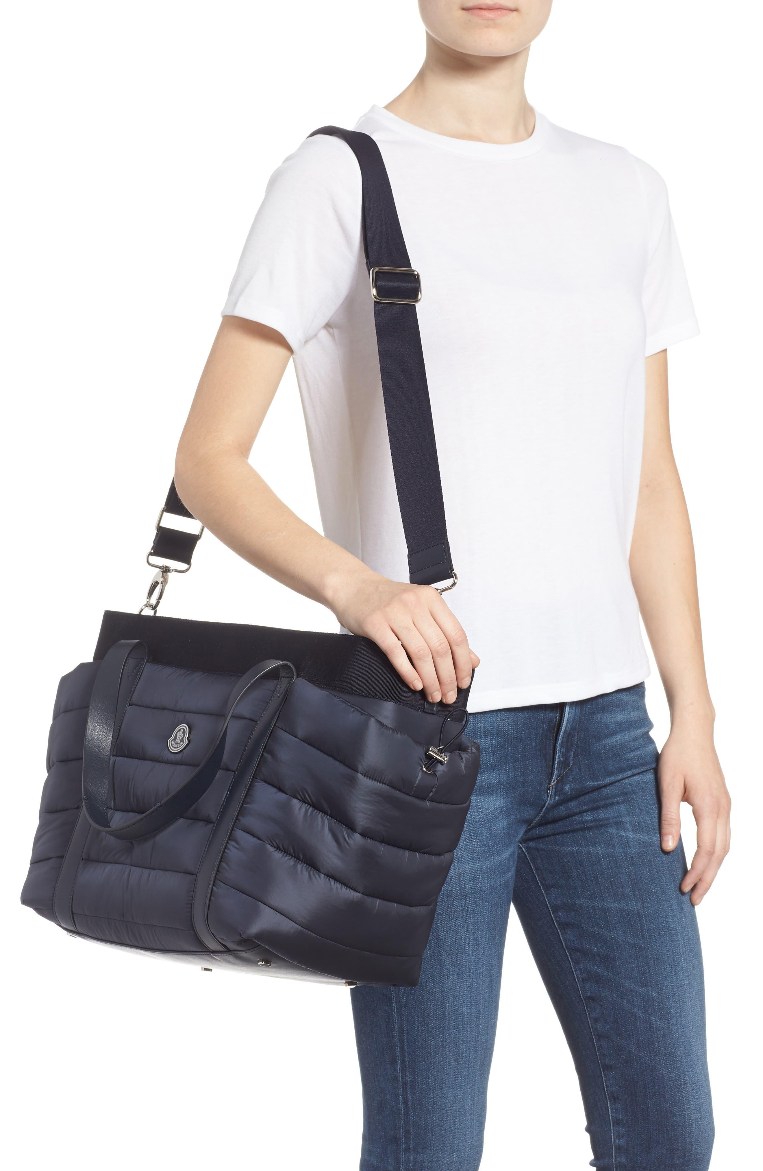 Nylon Diaper Bag,                             Alternate thumbnail 2, color,                             NAVY