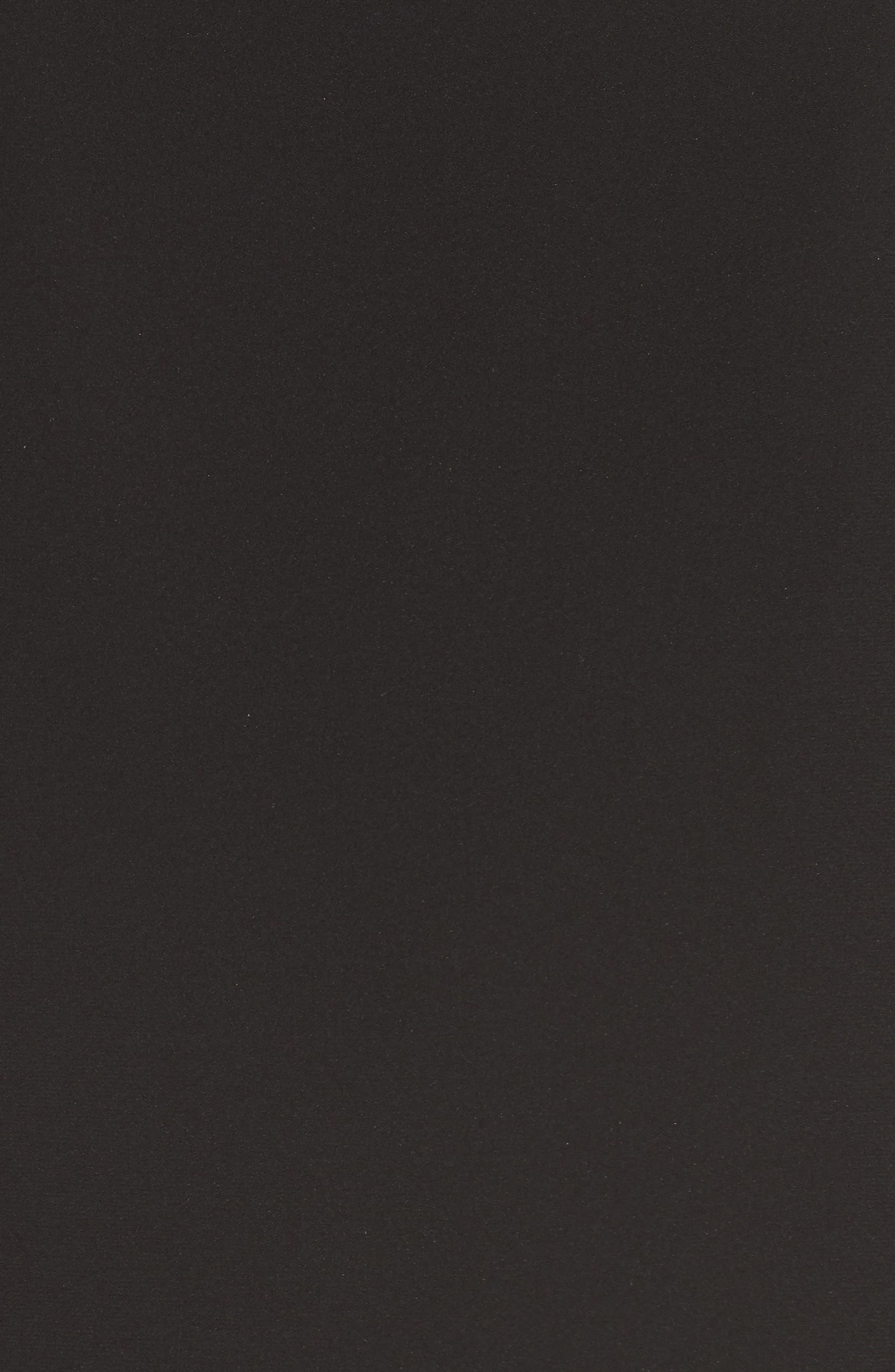 Istora Stretch Silk Top,                             Alternate thumbnail 5, color,                             BLACK
