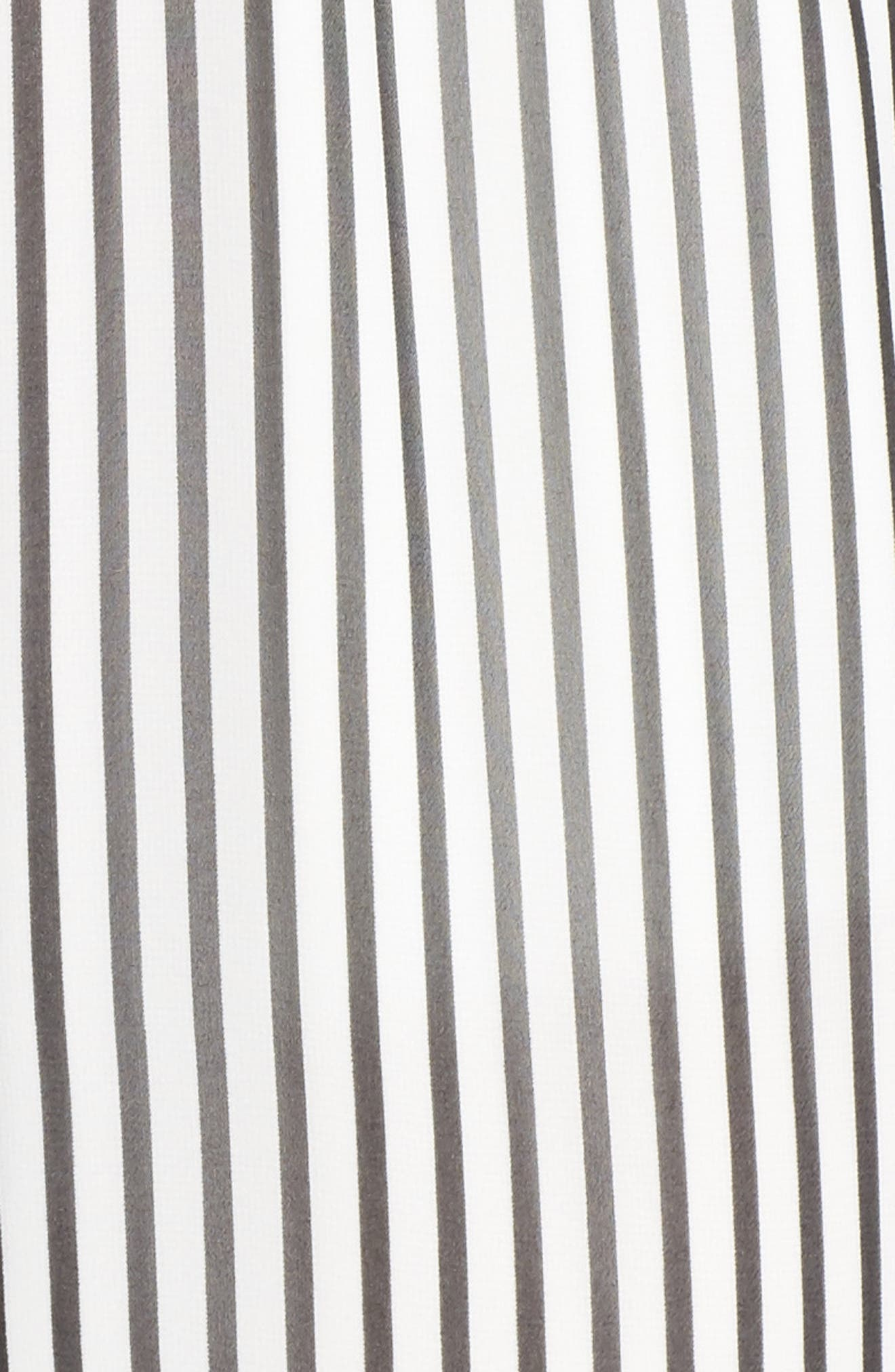 Cherry on Top Stripe Ruffle Jumpsuit,                             Alternate thumbnail 5, color,                             100