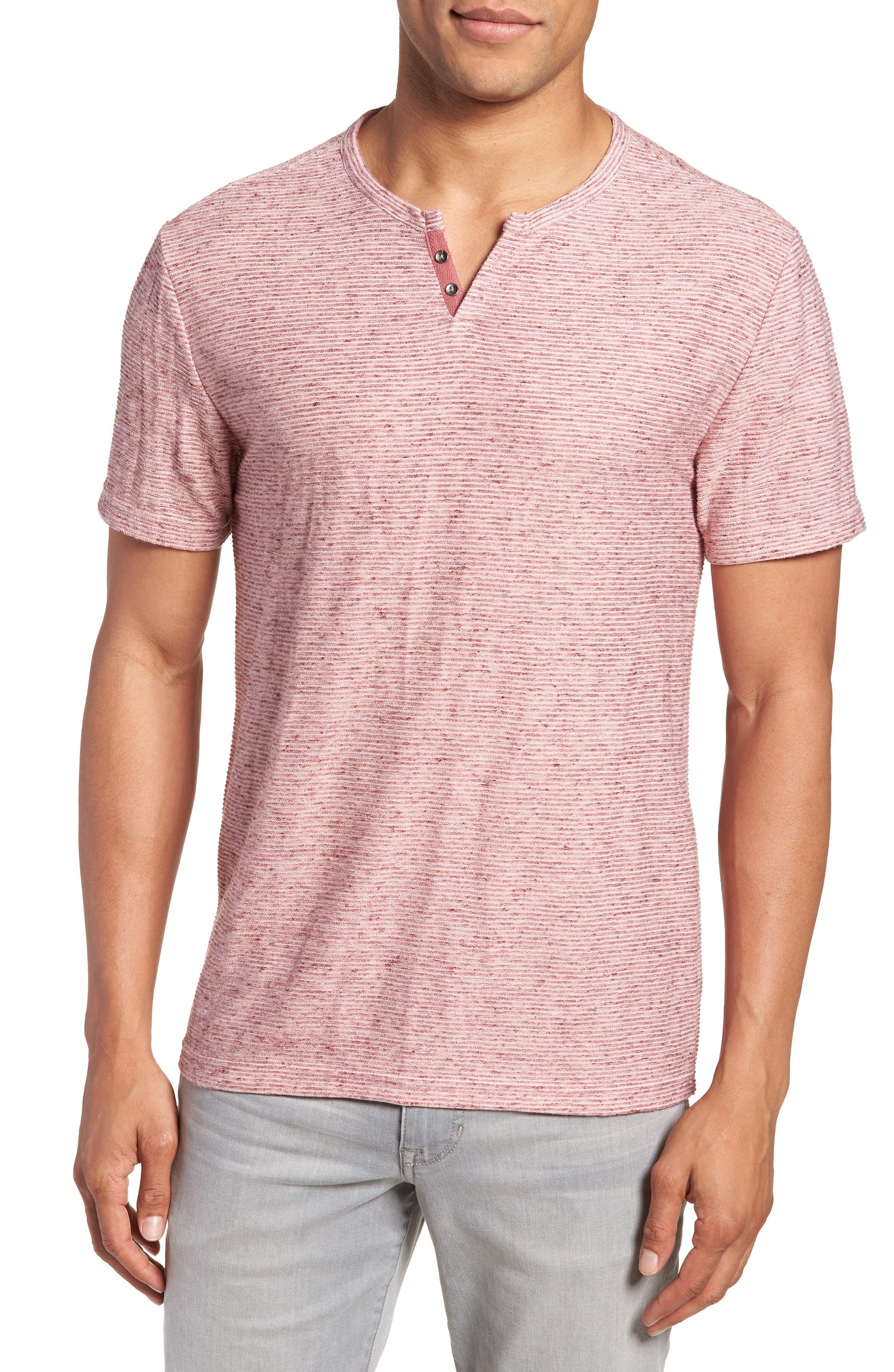 Metro Textured Henley Shirt,                             Main thumbnail 1, color,