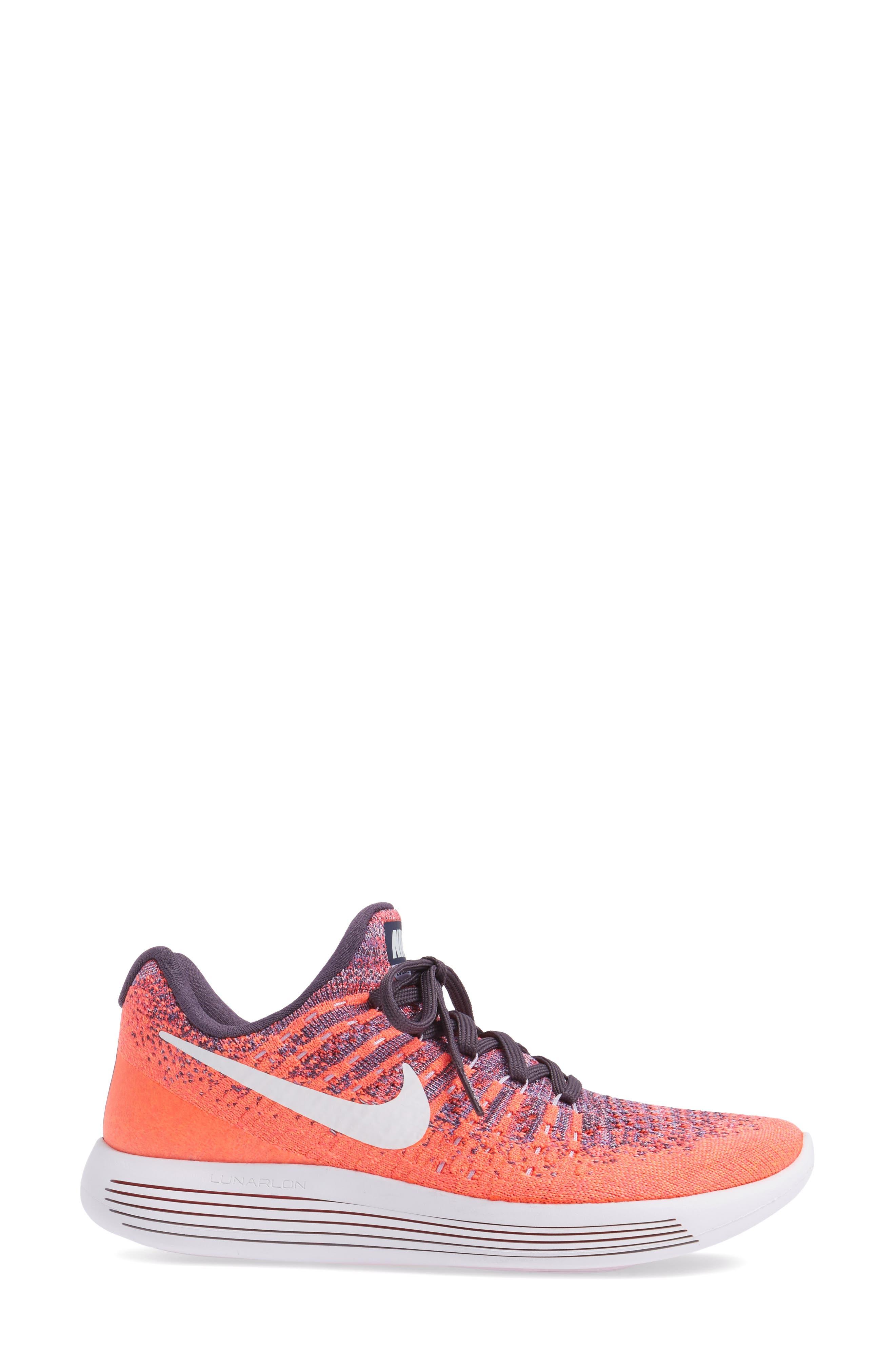 LunarEpic Low Flyknit 2 Running Shoe,                             Alternate thumbnail 57, color,