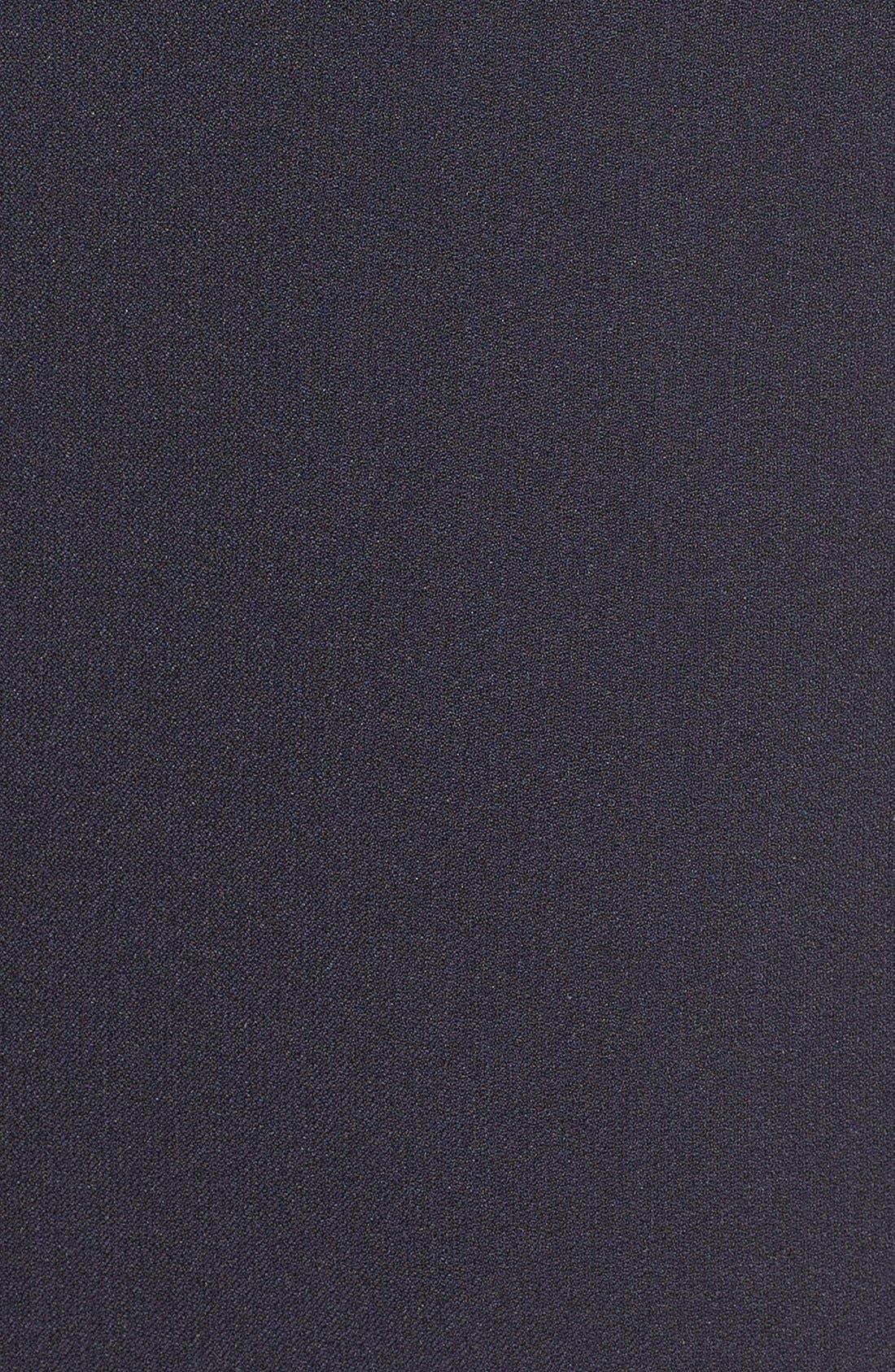 Front Lace Shift Dress,                             Alternate thumbnail 3, color,