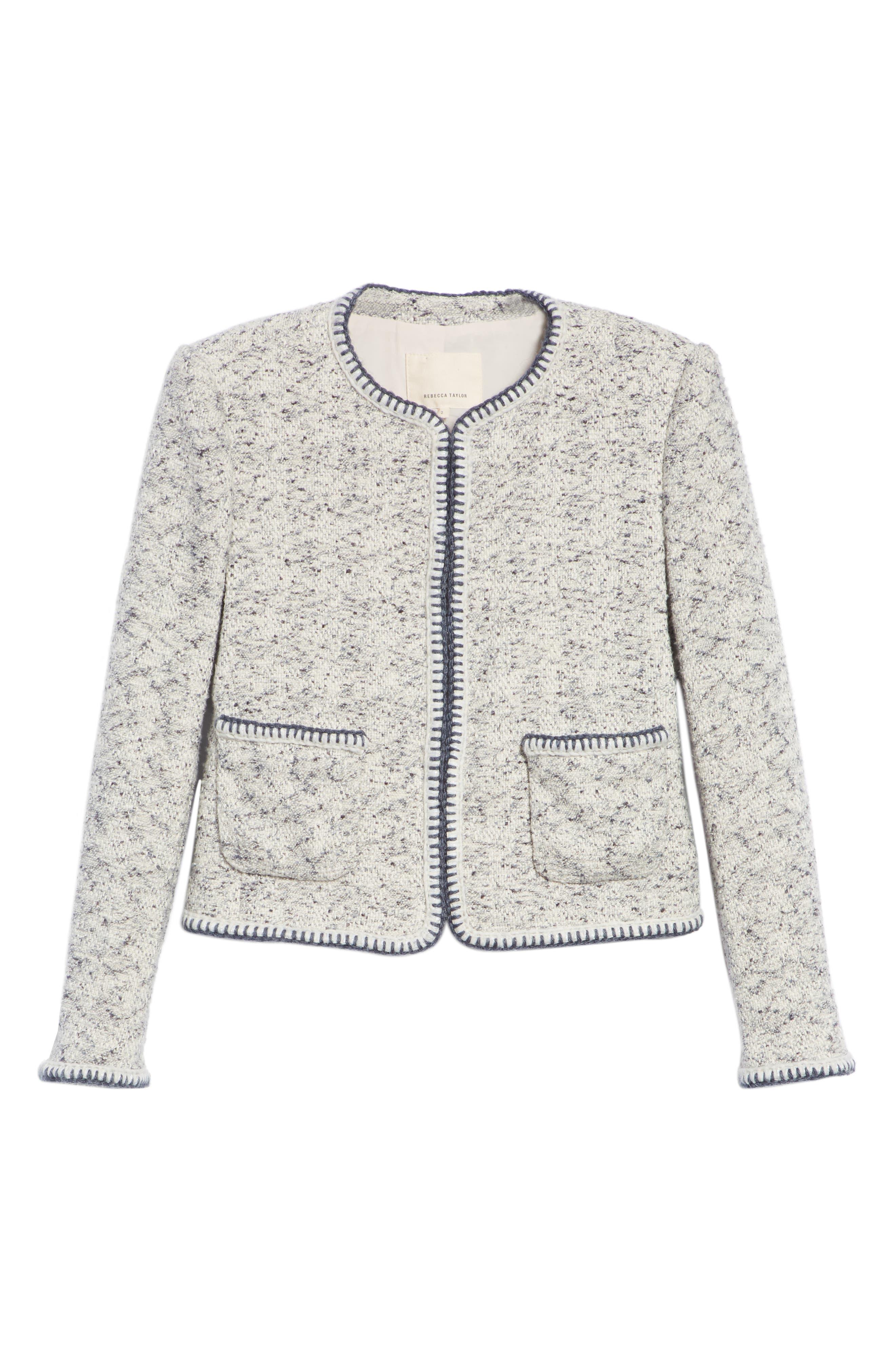 Speckled Tweed Jacket,                             Alternate thumbnail 5, color,                             054