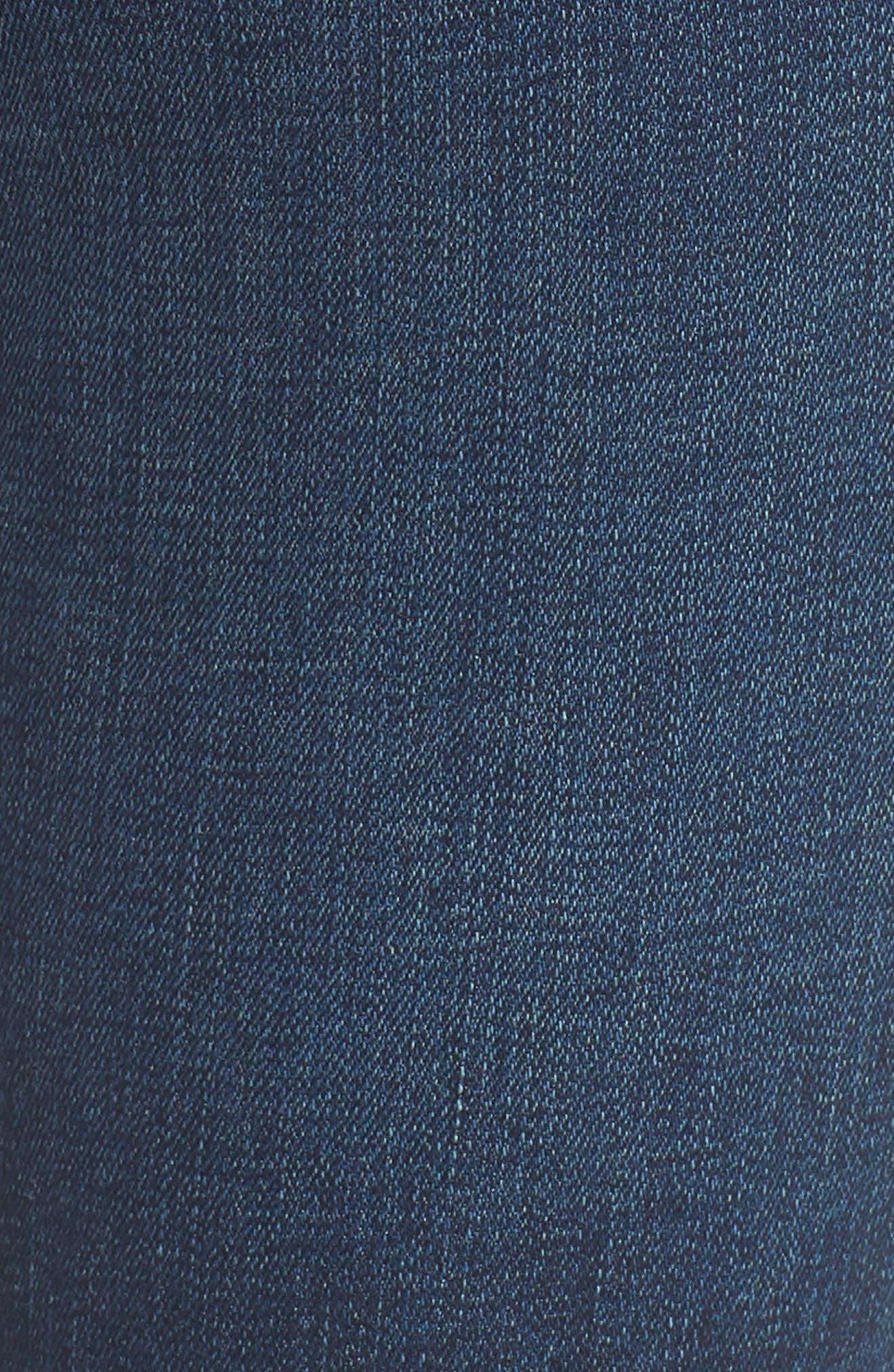 Maria High Waist Skinny Jeans,                             Alternate thumbnail 6, color,                             REVIVAL