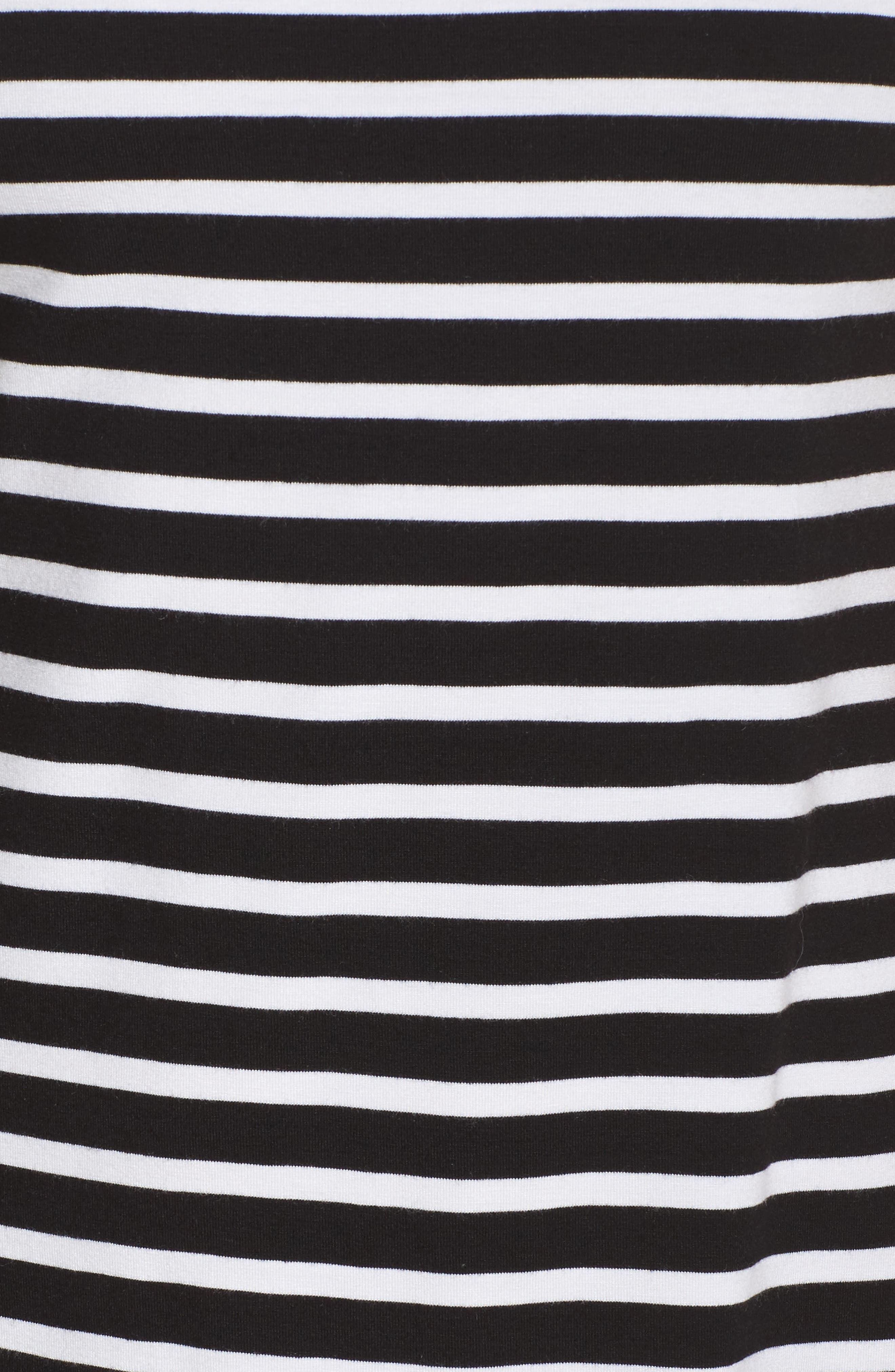 Breton Stripe Cover-Up Dress,                             Alternate thumbnail 5, color,