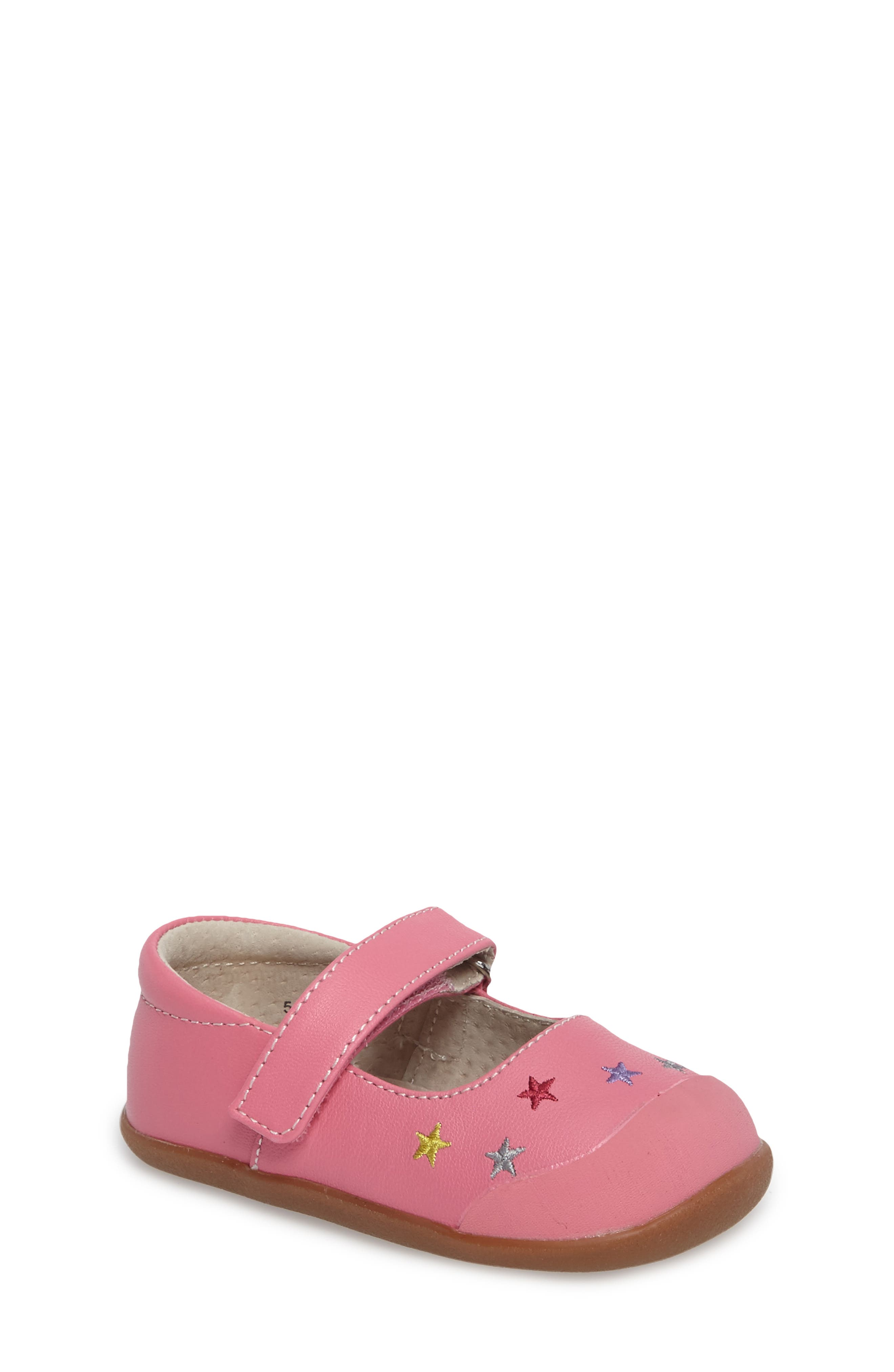 Harriet Star Embroidered Mary Jane,                         Main,                         color, 670
