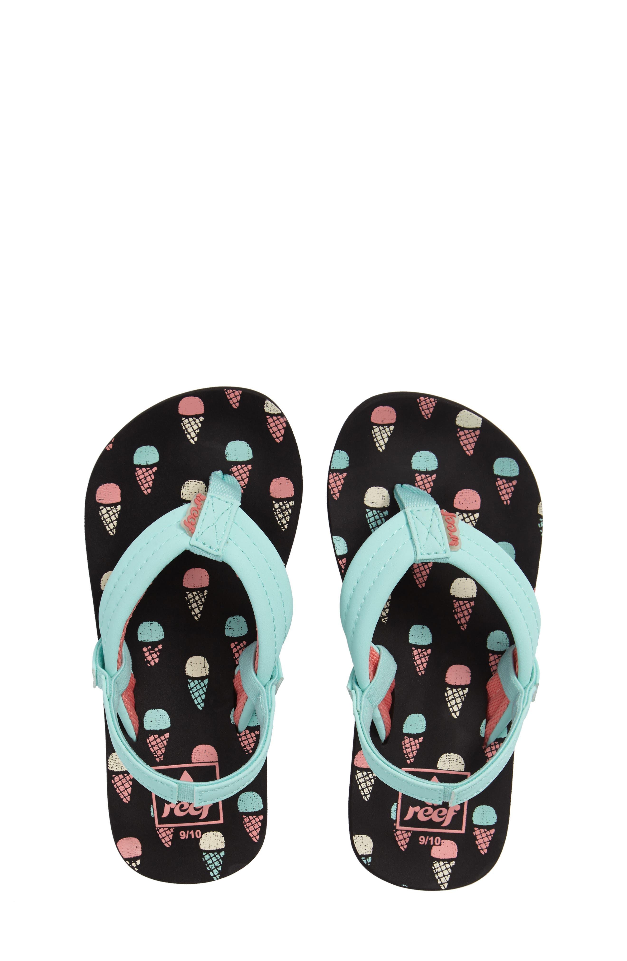 'Little Ahi' Thong Sandal,                             Main thumbnail 6, color,