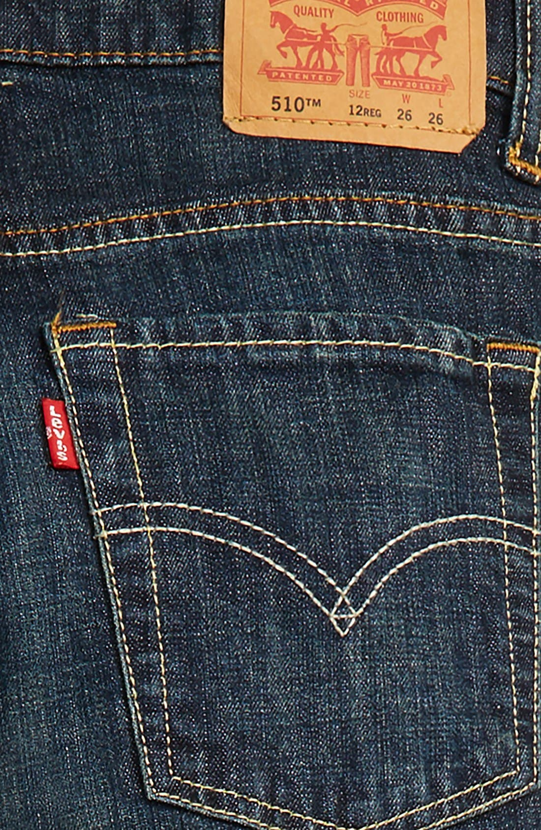 510<sup>™</sup> Skinny Fit Jeans,                             Alternate thumbnail 21, color,