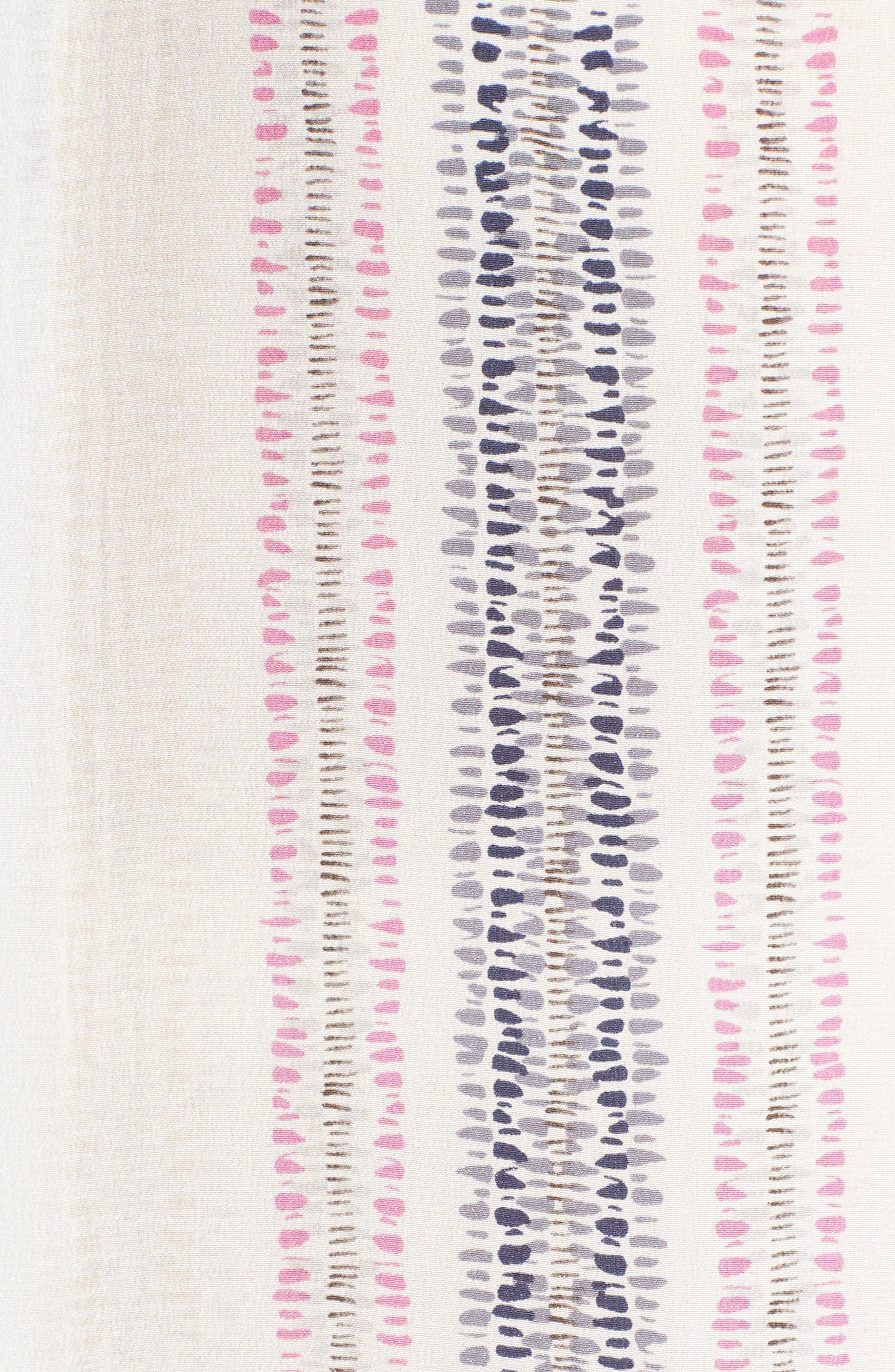 Stitch Lines Silk Top,                             Alternate thumbnail 5, color,                             490
