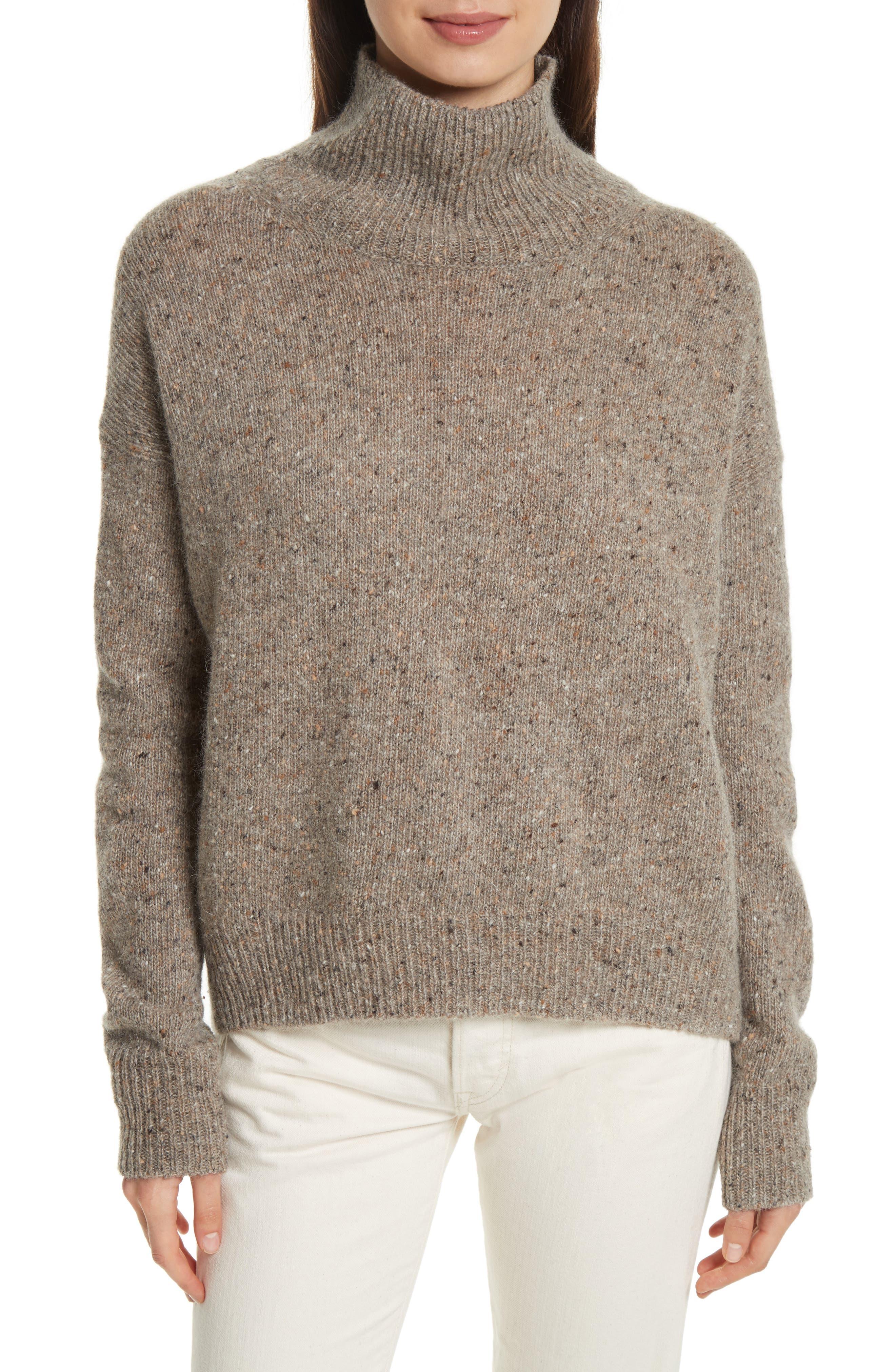 Cashmere Turtleneck Sweater,                             Main thumbnail 2, color,