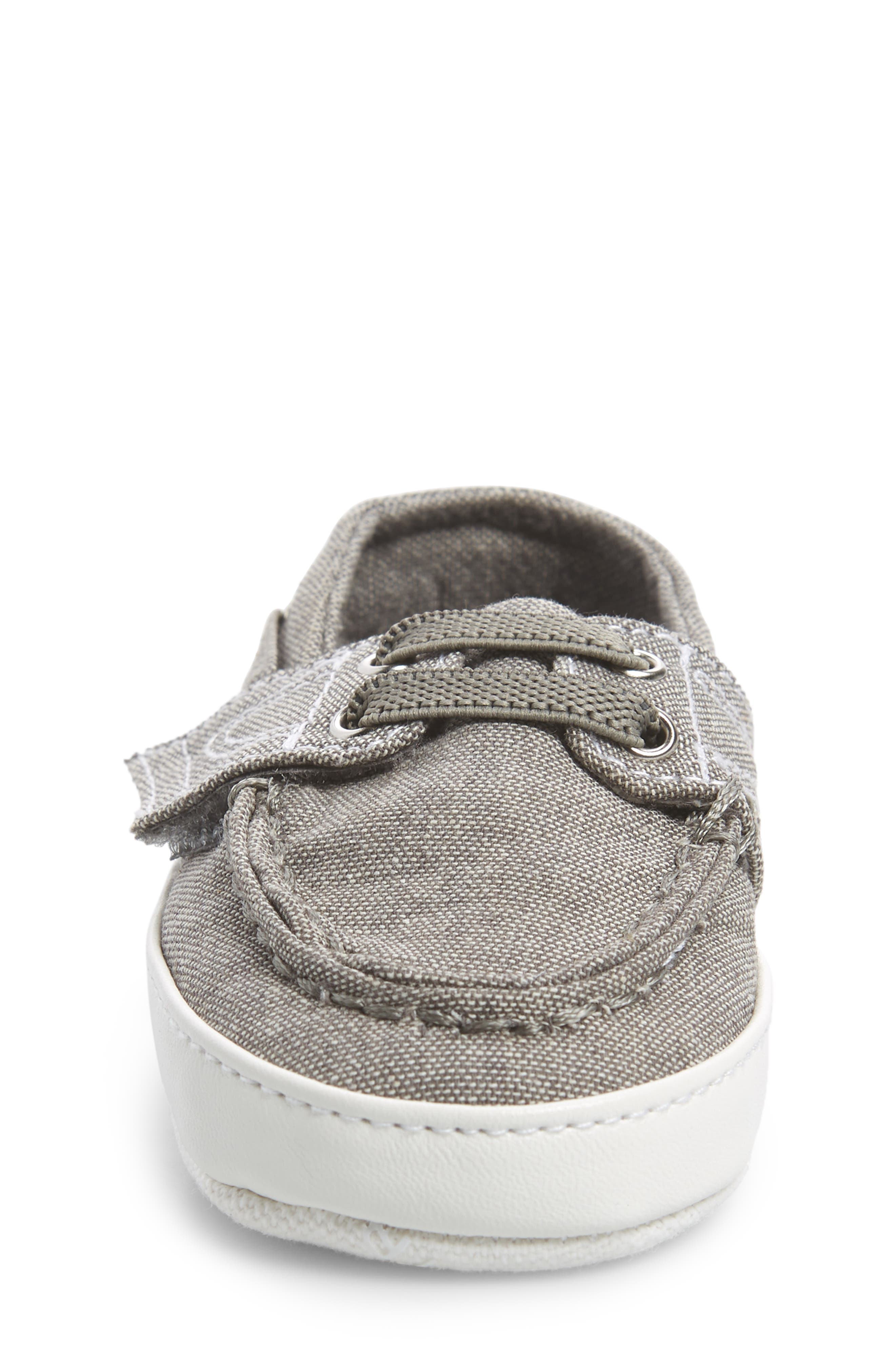 Motto Boat Crib Shoe,                             Alternate thumbnail 4, color,
