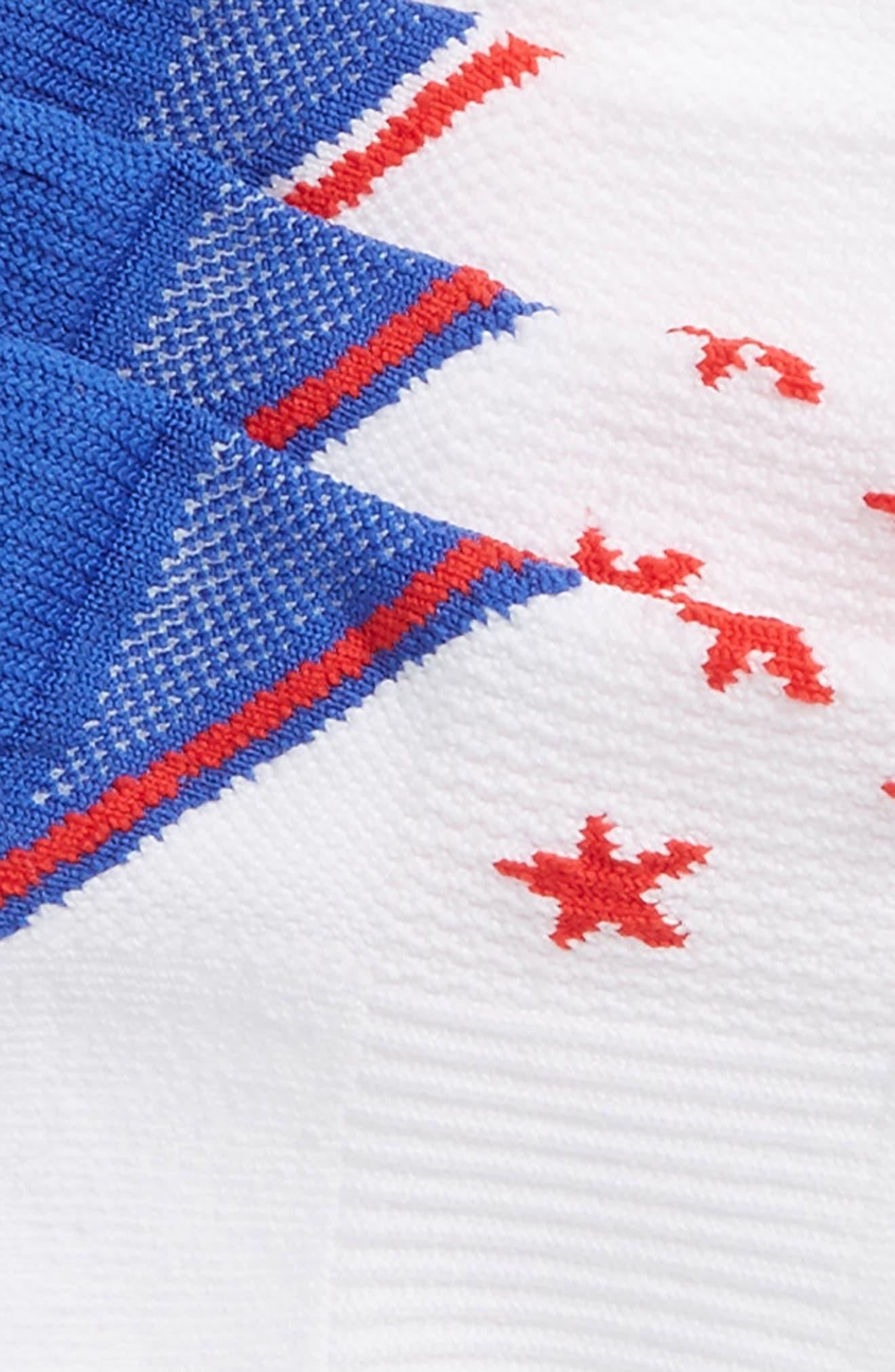 Tech-Smart Assorted 2-Pack Socks,                             Alternate thumbnail 2, color,                             RED/ WHITE/ BLUE
