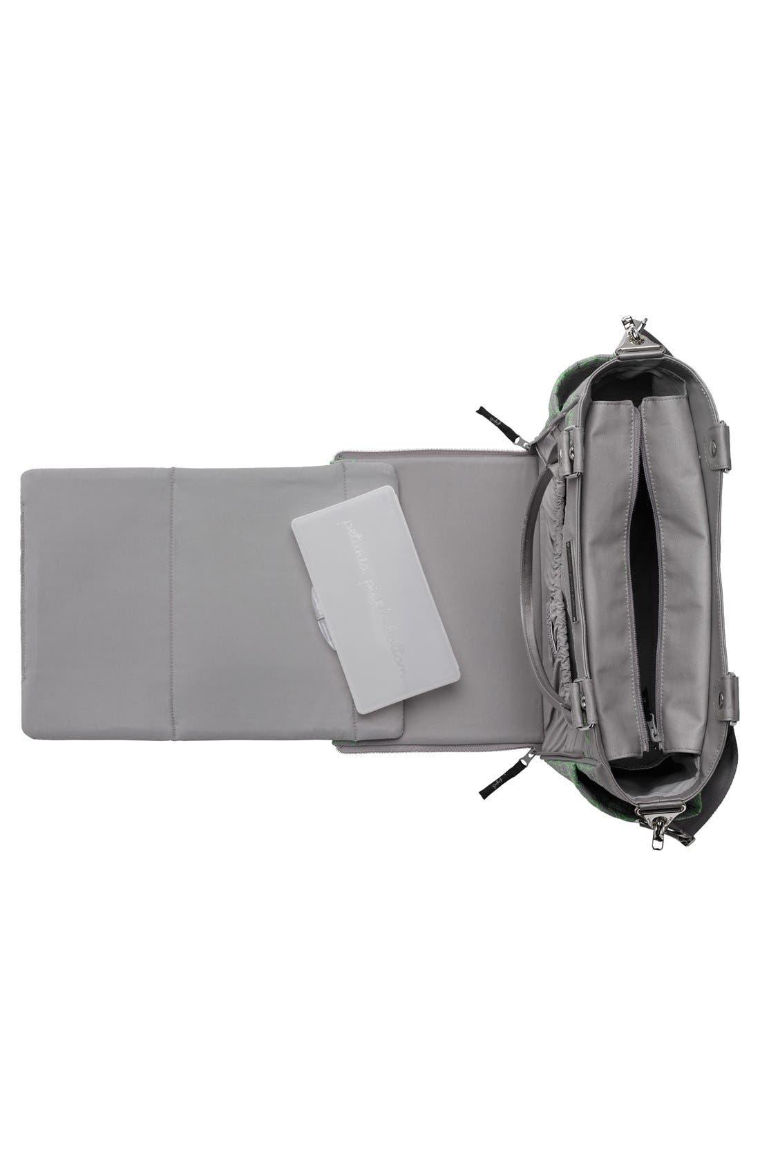 'City Carryall' Diaper Bag,                             Alternate thumbnail 4, color,