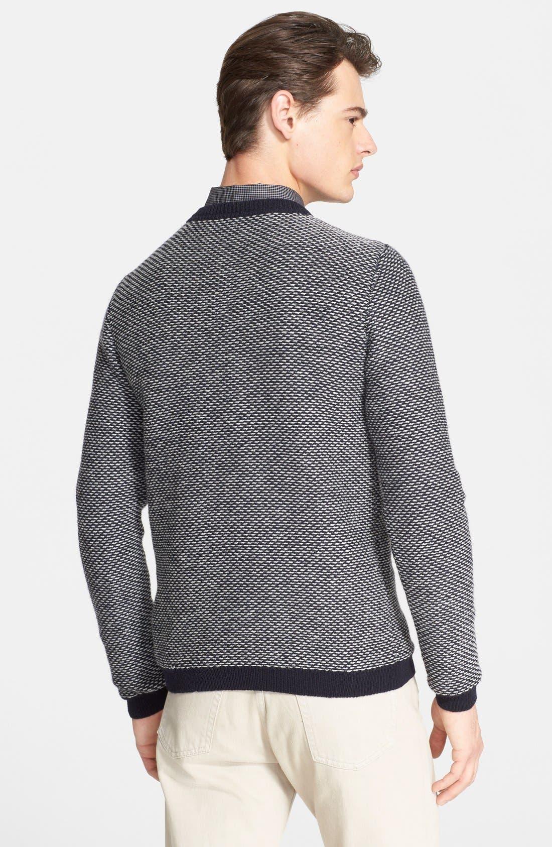 A.P.C.,                             Merino Wool Sweater,                             Alternate thumbnail 5, color,                             410