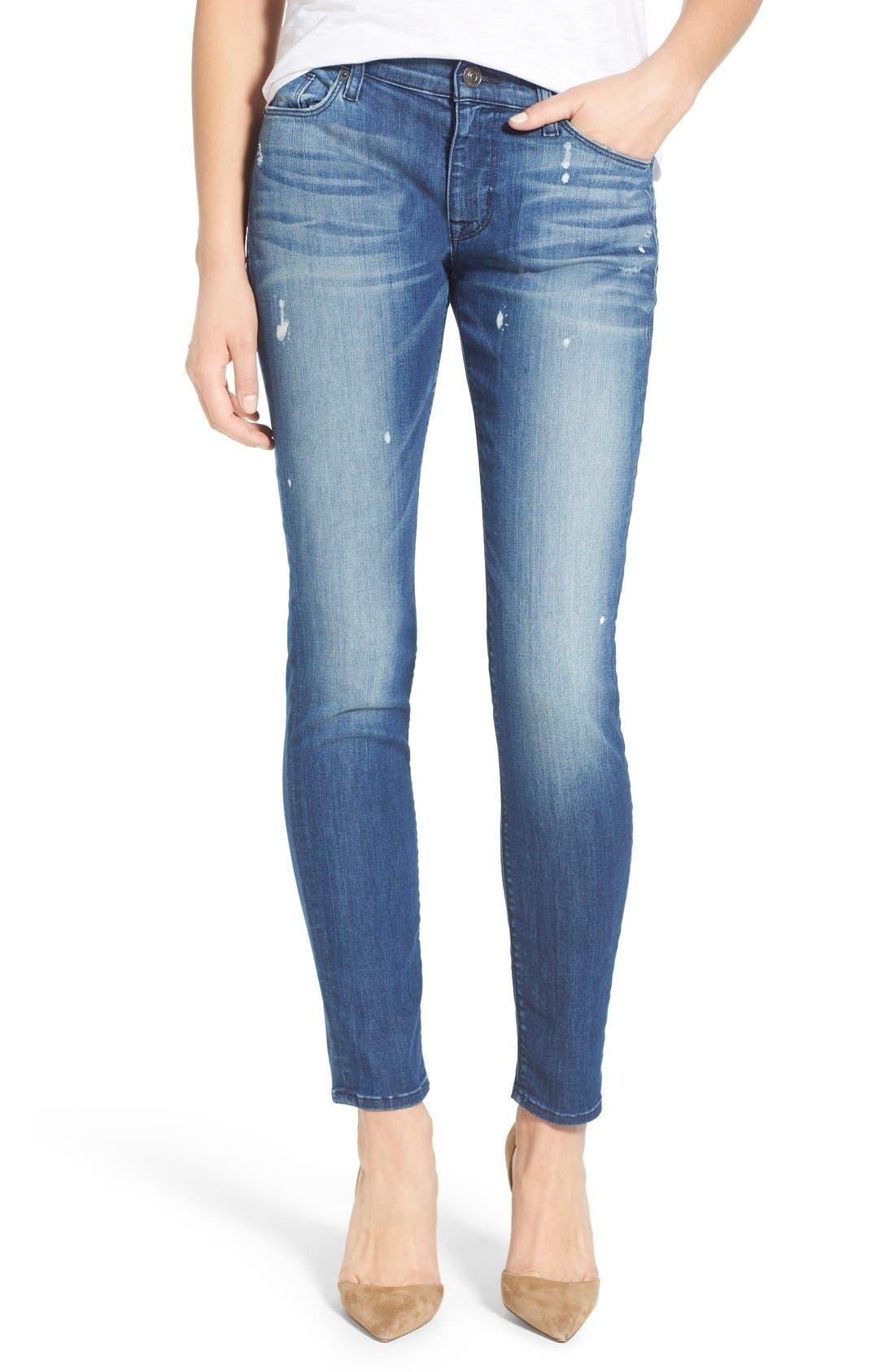 'Nico' Super Skinny Jeans,                             Main thumbnail 4, color,