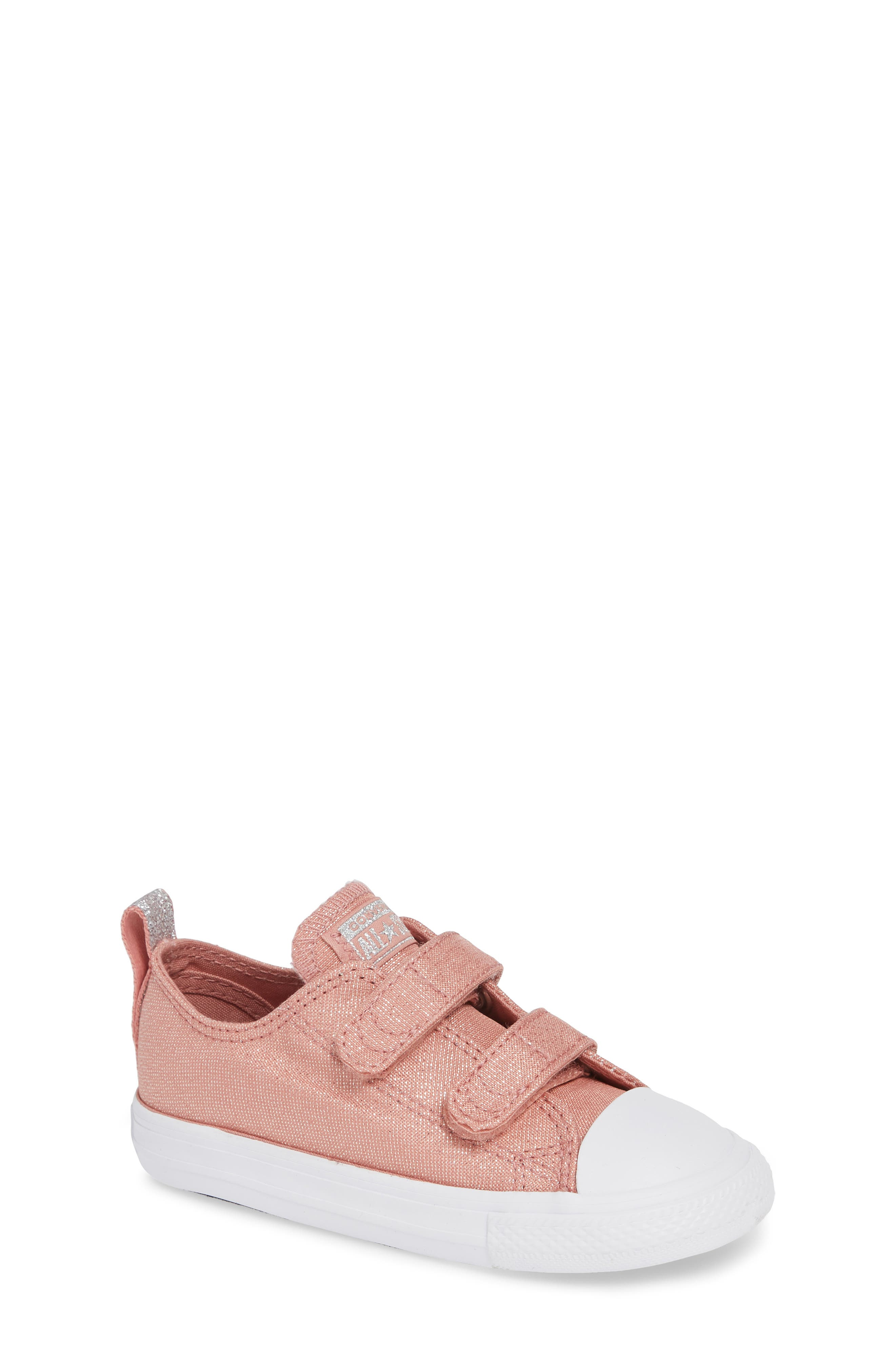 All Star<sup>®</sup> Fairy Dust Sneaker,                             Main thumbnail 1, color,                             RUST PINK