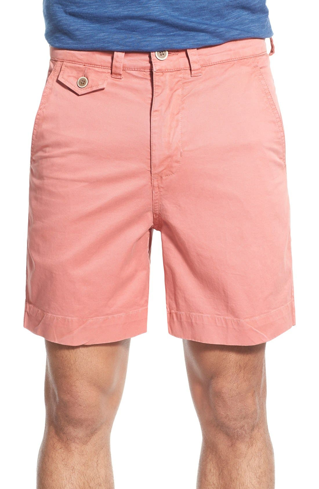 'Sunny' Stretch Twill Chino Shorts,                             Main thumbnail 5, color,