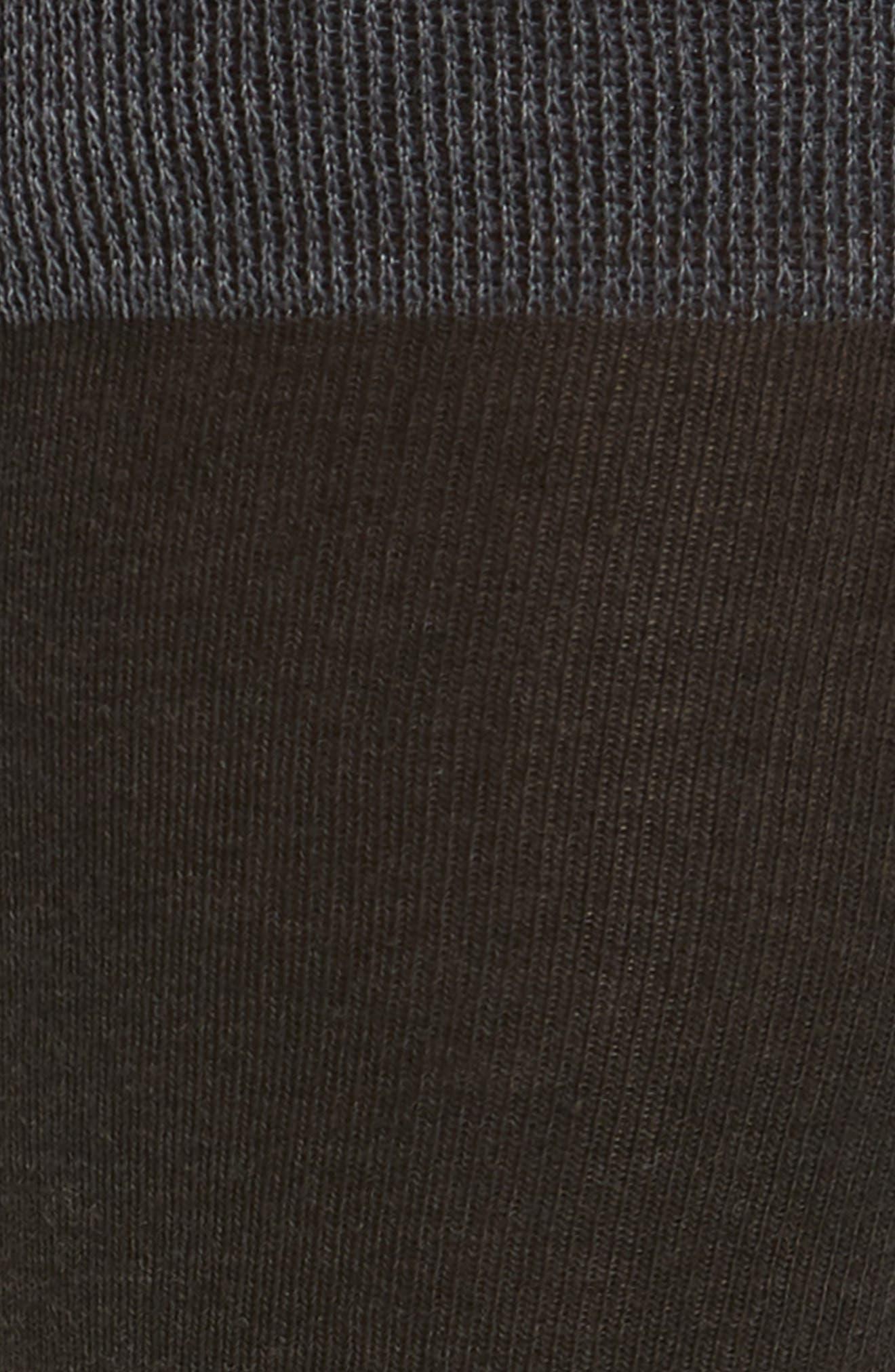 Solid Dress Socks,                             Alternate thumbnail 2, color,                             CHARCOAL