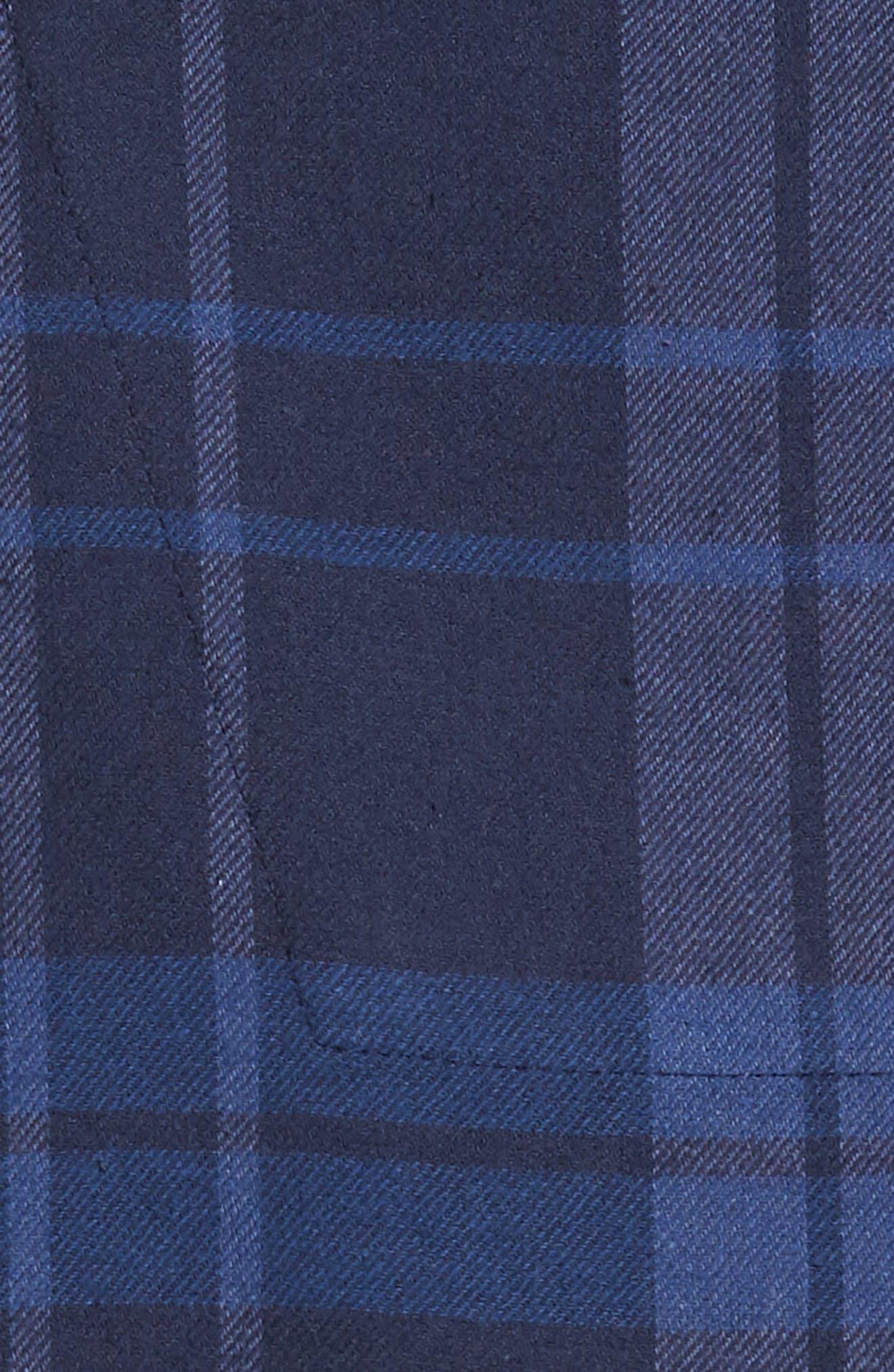 '824' Flannel Pajama Set,                             Alternate thumbnail 104, color,