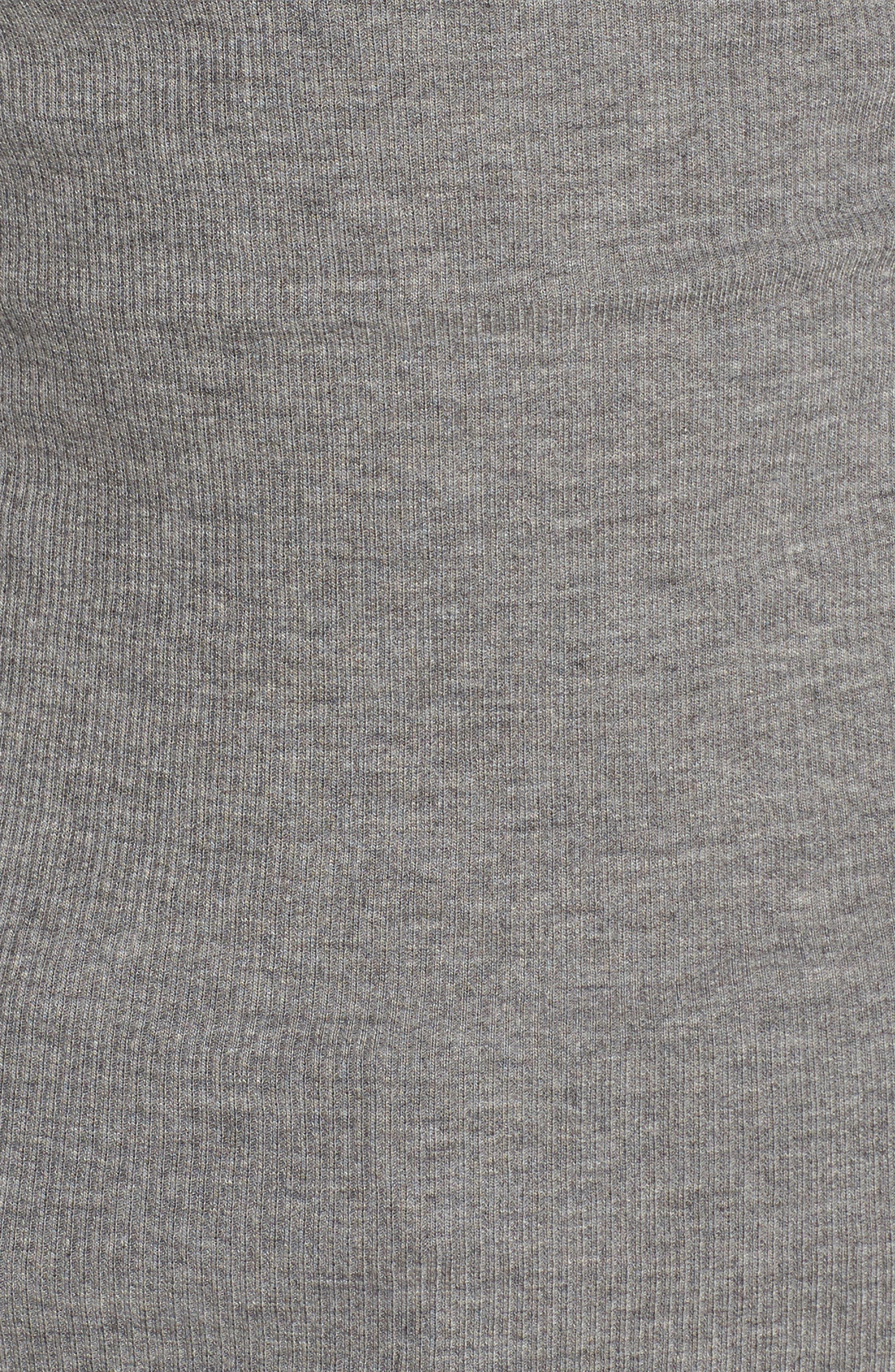 Long Sleeve Ruffle Tee,                             Alternate thumbnail 5, color,                             020