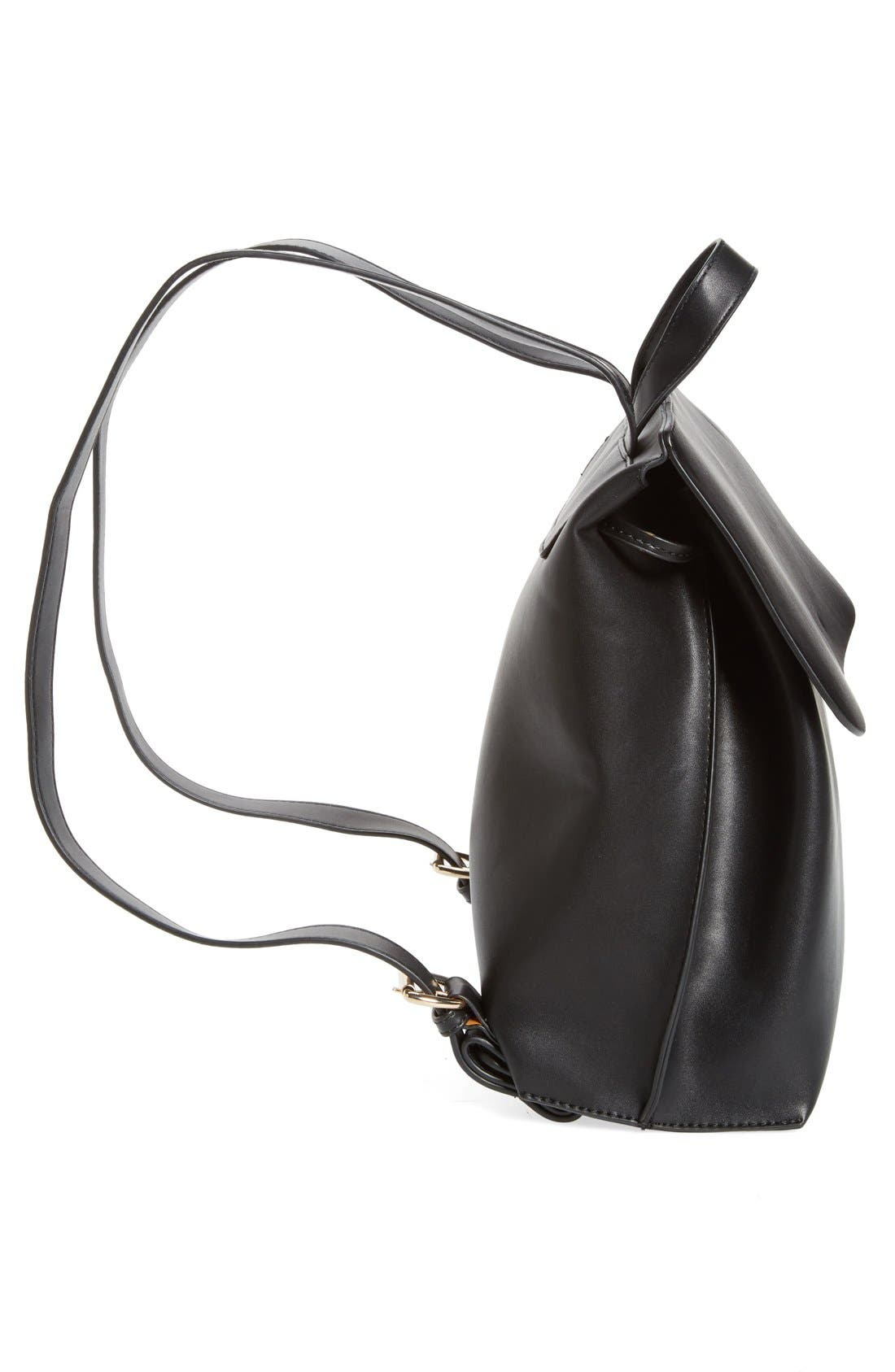 Selena Faux Leather Backpack,                             Alternate thumbnail 34, color,