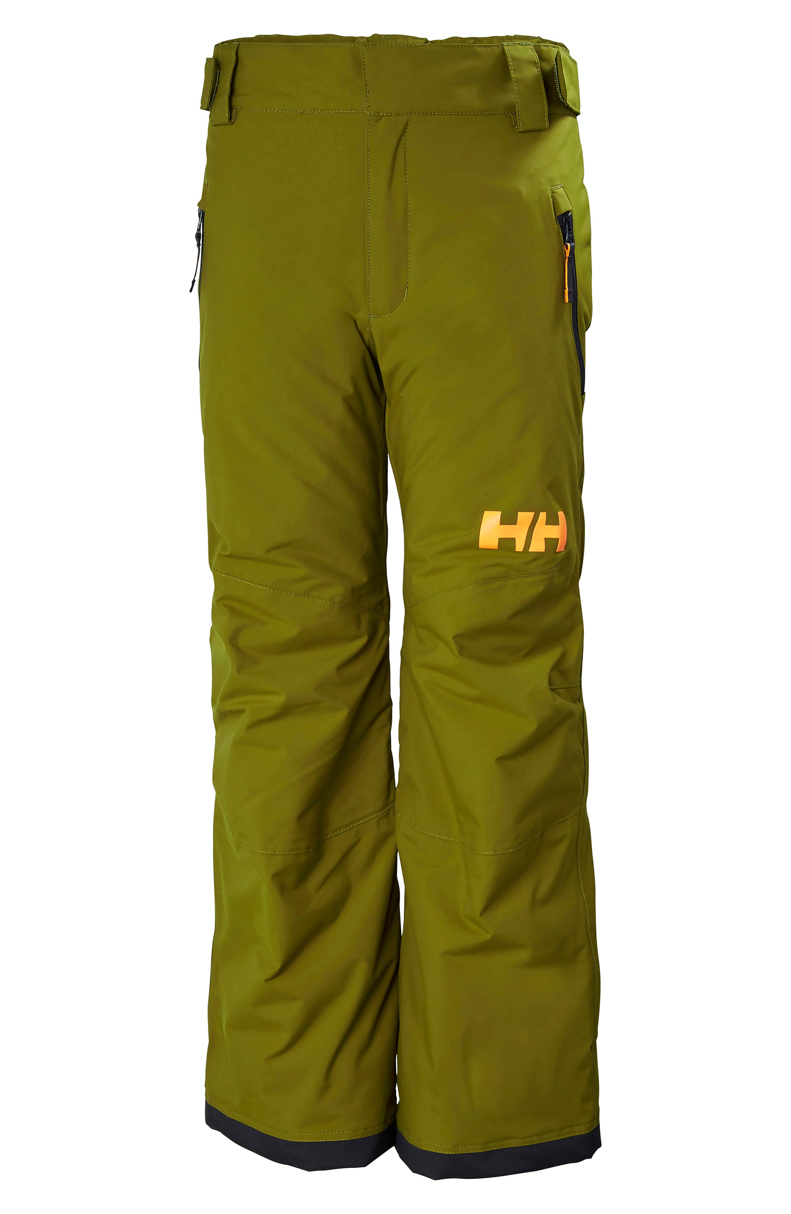 Legendary Waterproof PrimaLoft<sup>®</sup> Insulated Snow Pants,                         Main,                         color, FIR GREEN