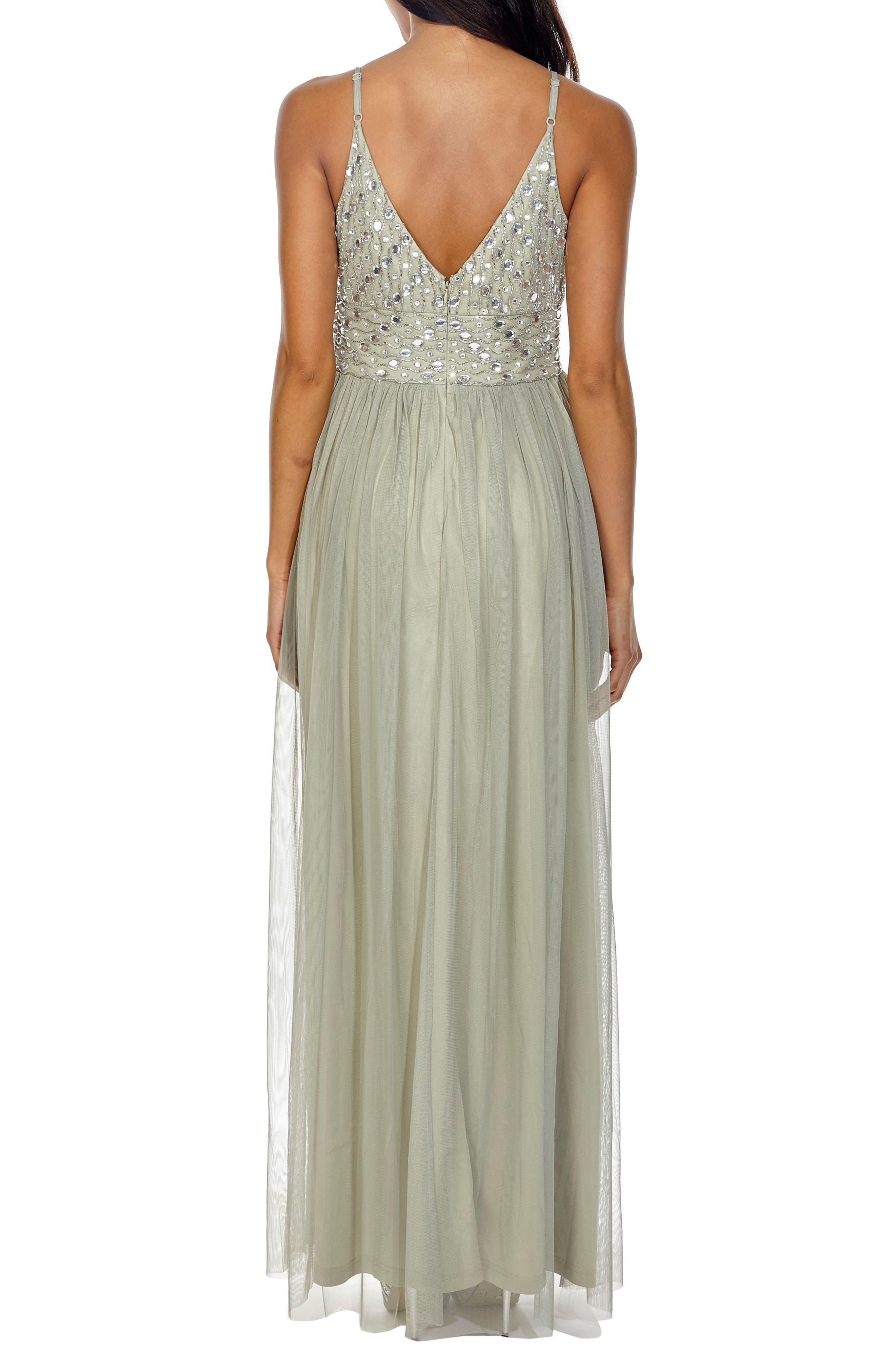 Maeve Beaded Maxi Dress,                             Alternate thumbnail 2, color,                             330