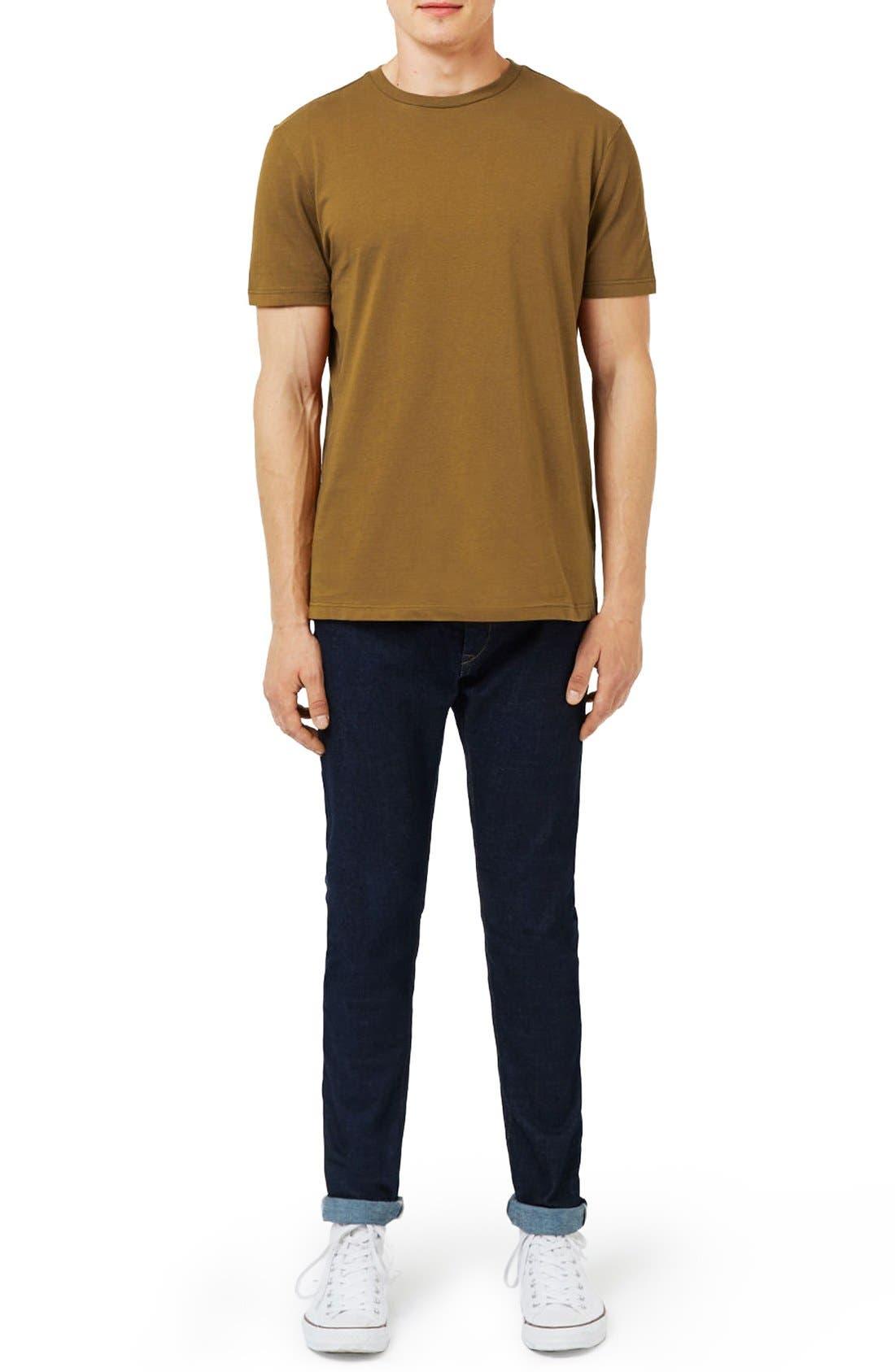 Slim Fit Crewneck T-Shirt,                             Alternate thumbnail 139, color,